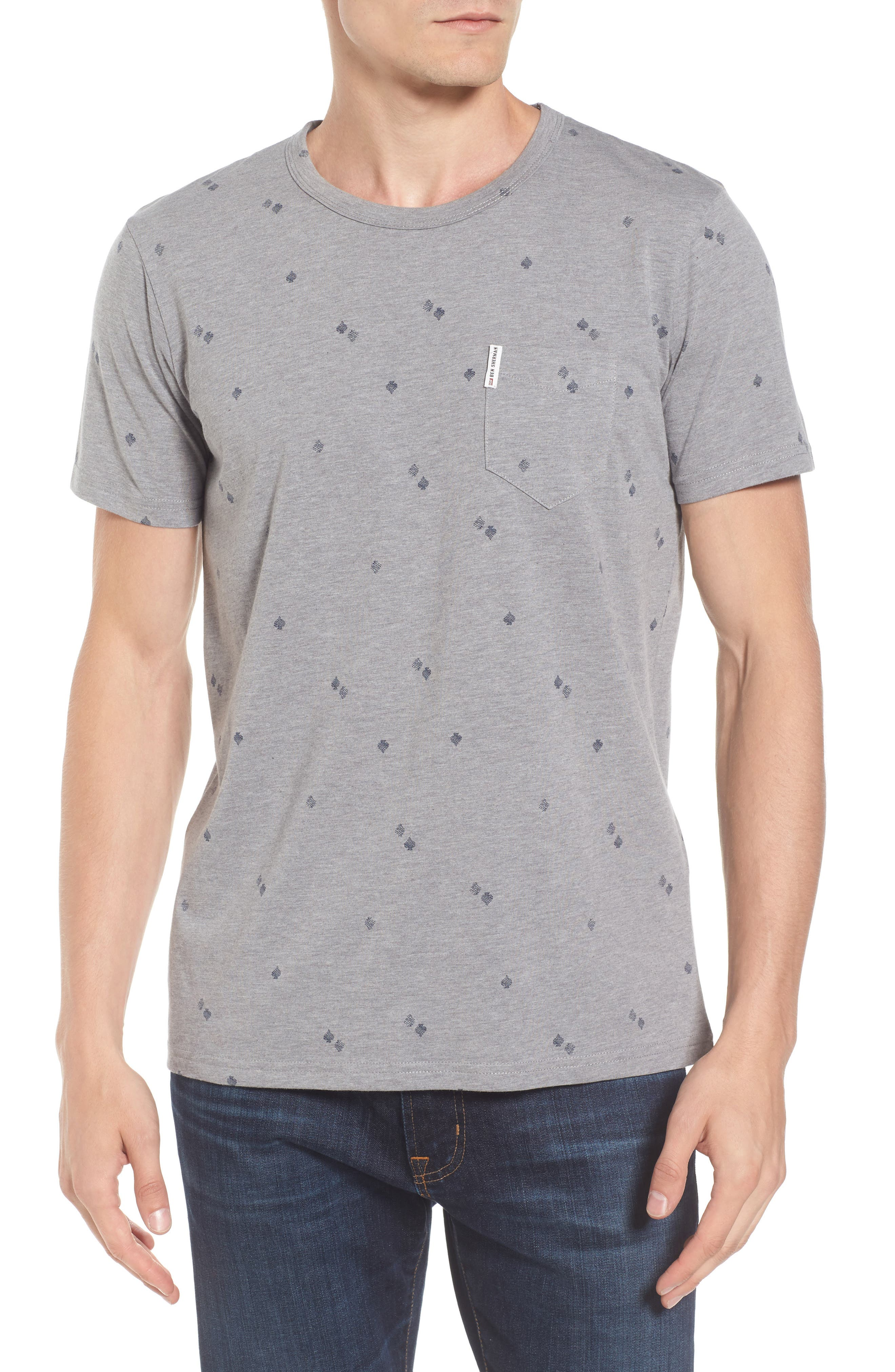 Graphic T-Shirt,                         Main,                         color, Silver Grey