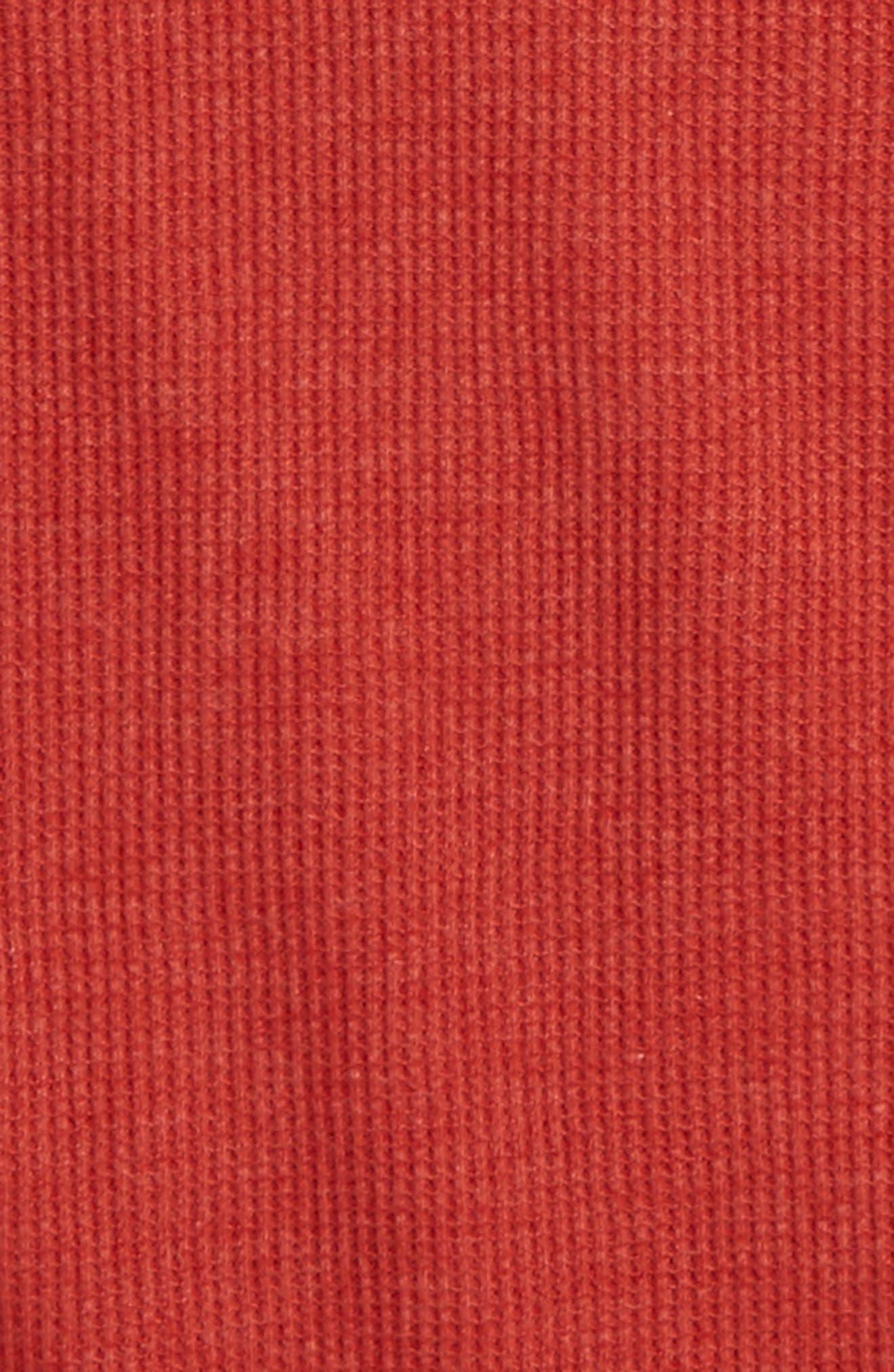 Long Sleeve Thermal T-Shirt,                             Alternate thumbnail 2, color,                             Rust Bossa Nova