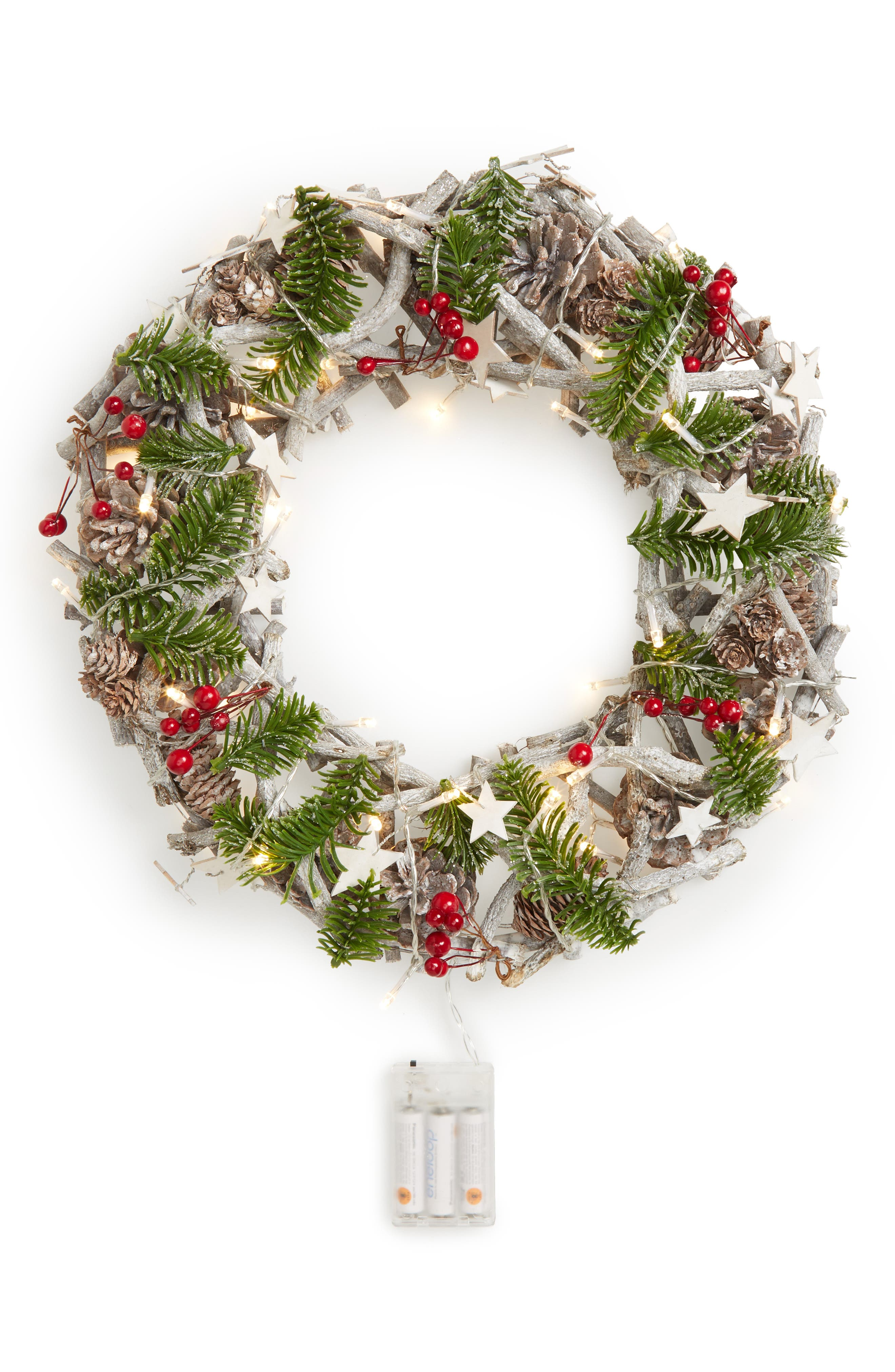 Main Image - ALLSTATE Pinecone Wreath