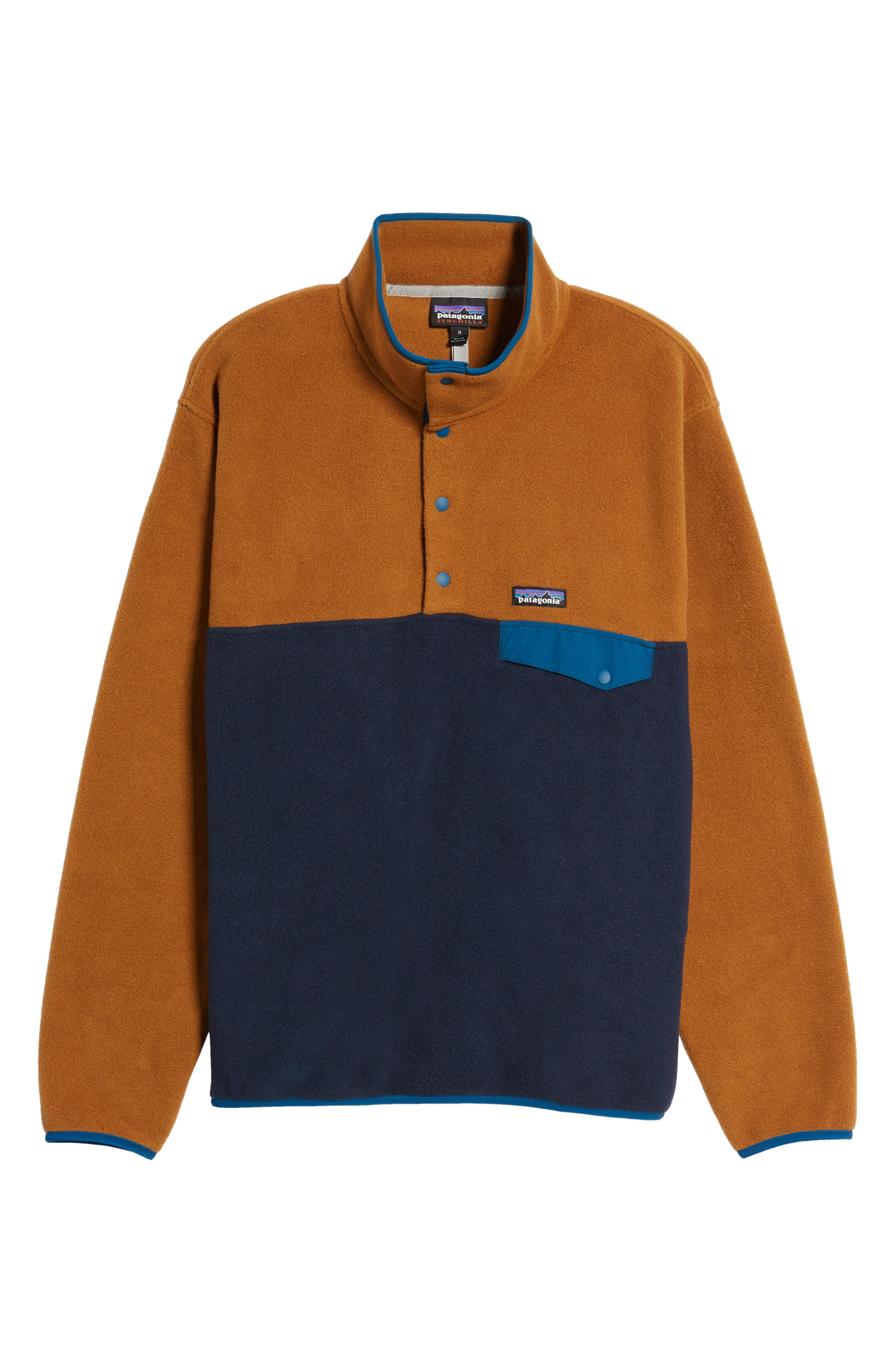 Alternate Image 5  - Patagonia 'Synchilla® Snap-T' Fleece Pullover