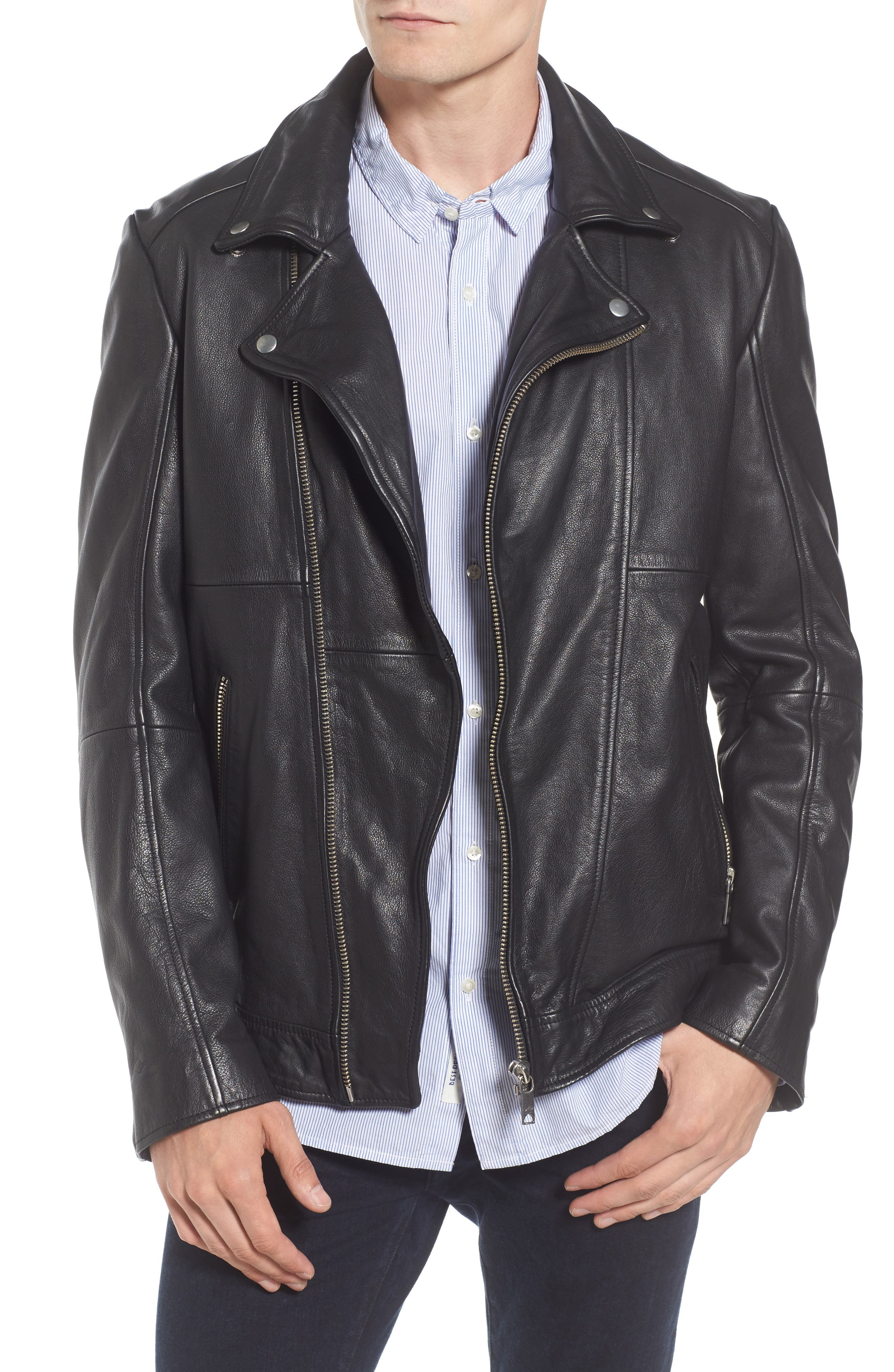 Scotch & Soda Classic Leather Jacket