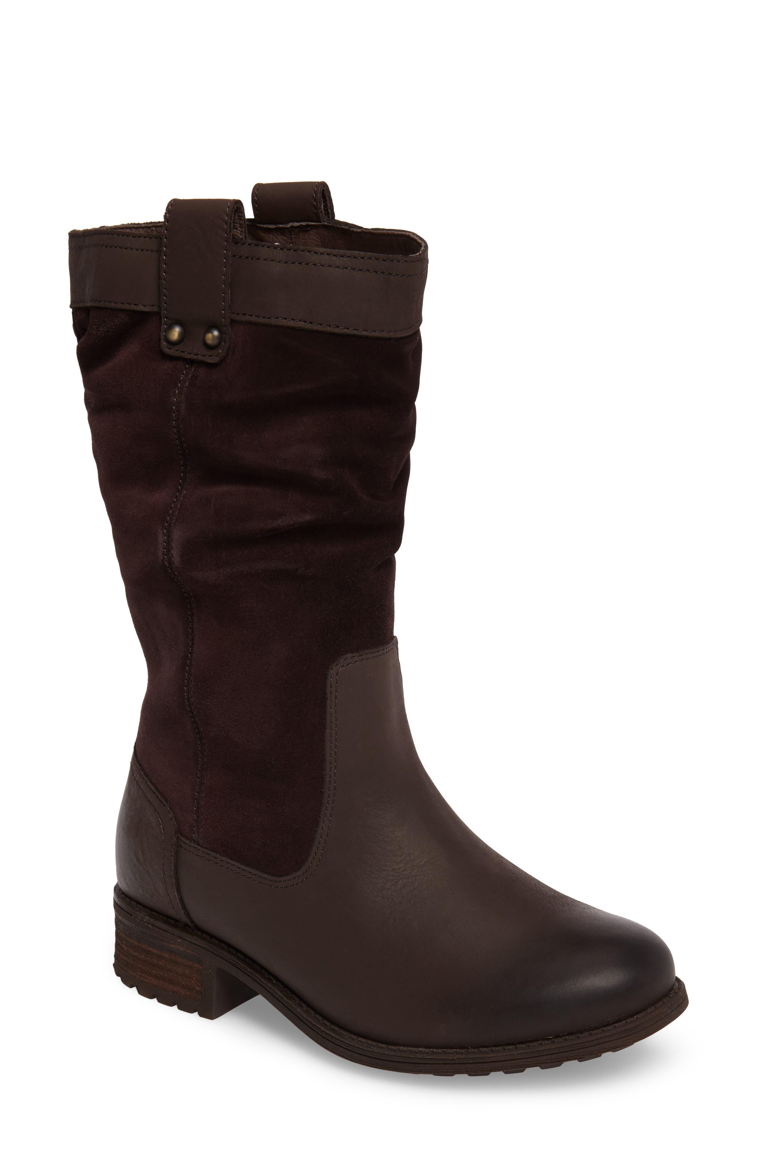 Alternate Image 1 Selected - UGG® Bruckner Water Resistant Slouch Boot (Women)