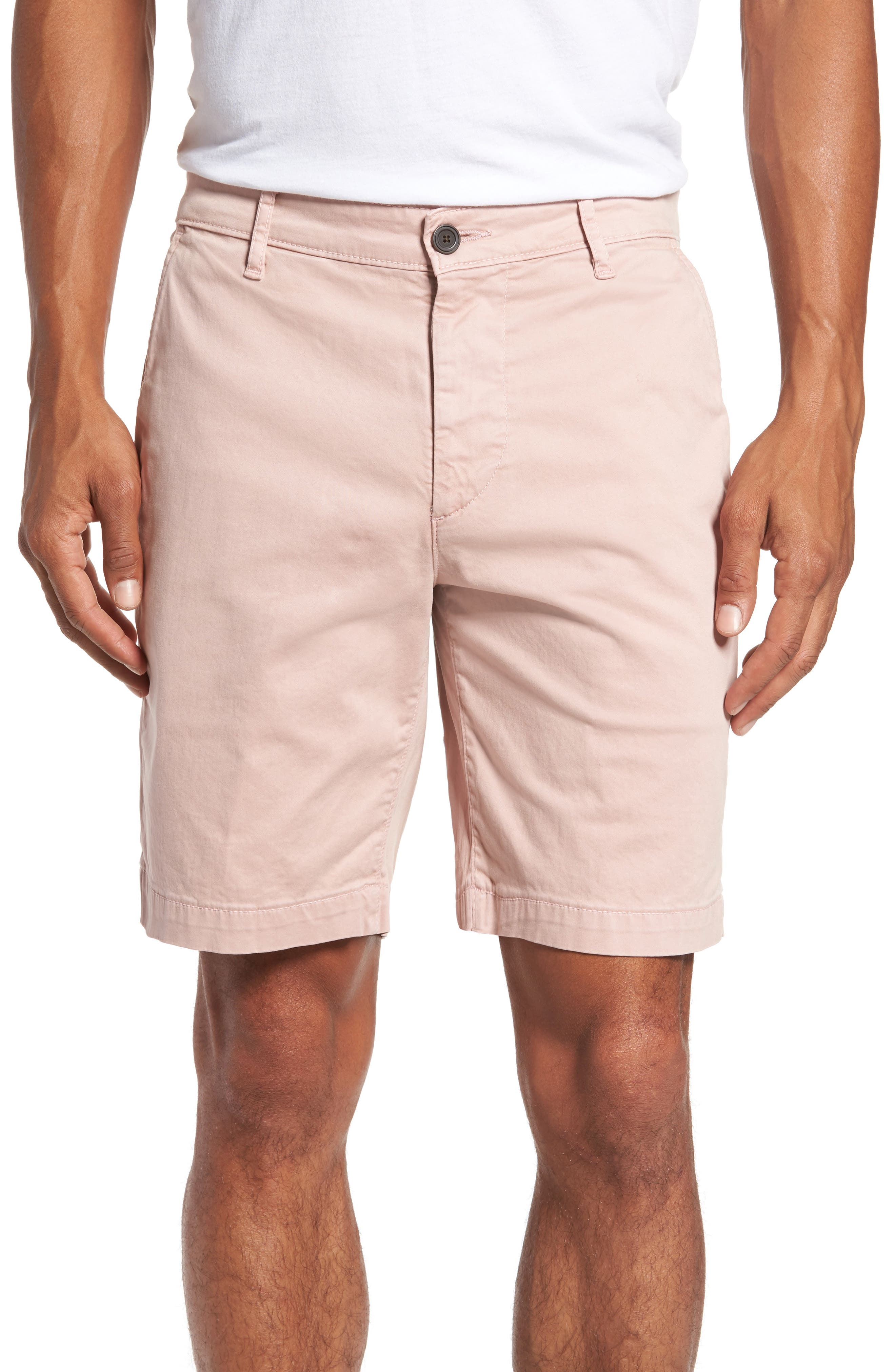 AG Wanderer Modern Slim Fit Print Twill Shorts
