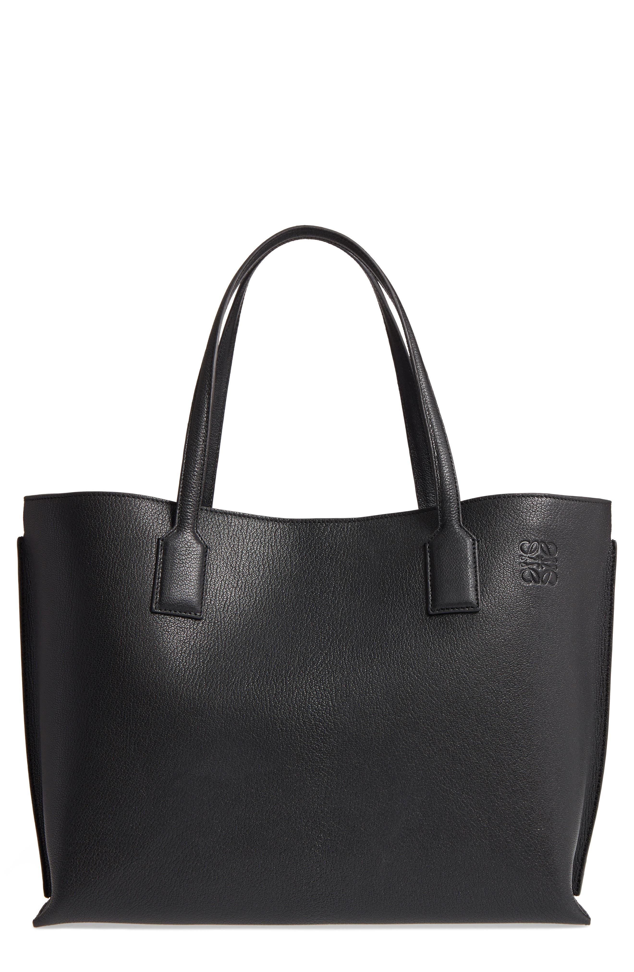 Alternate Image 1 Selected - Loewe Large Leather T-Shopper