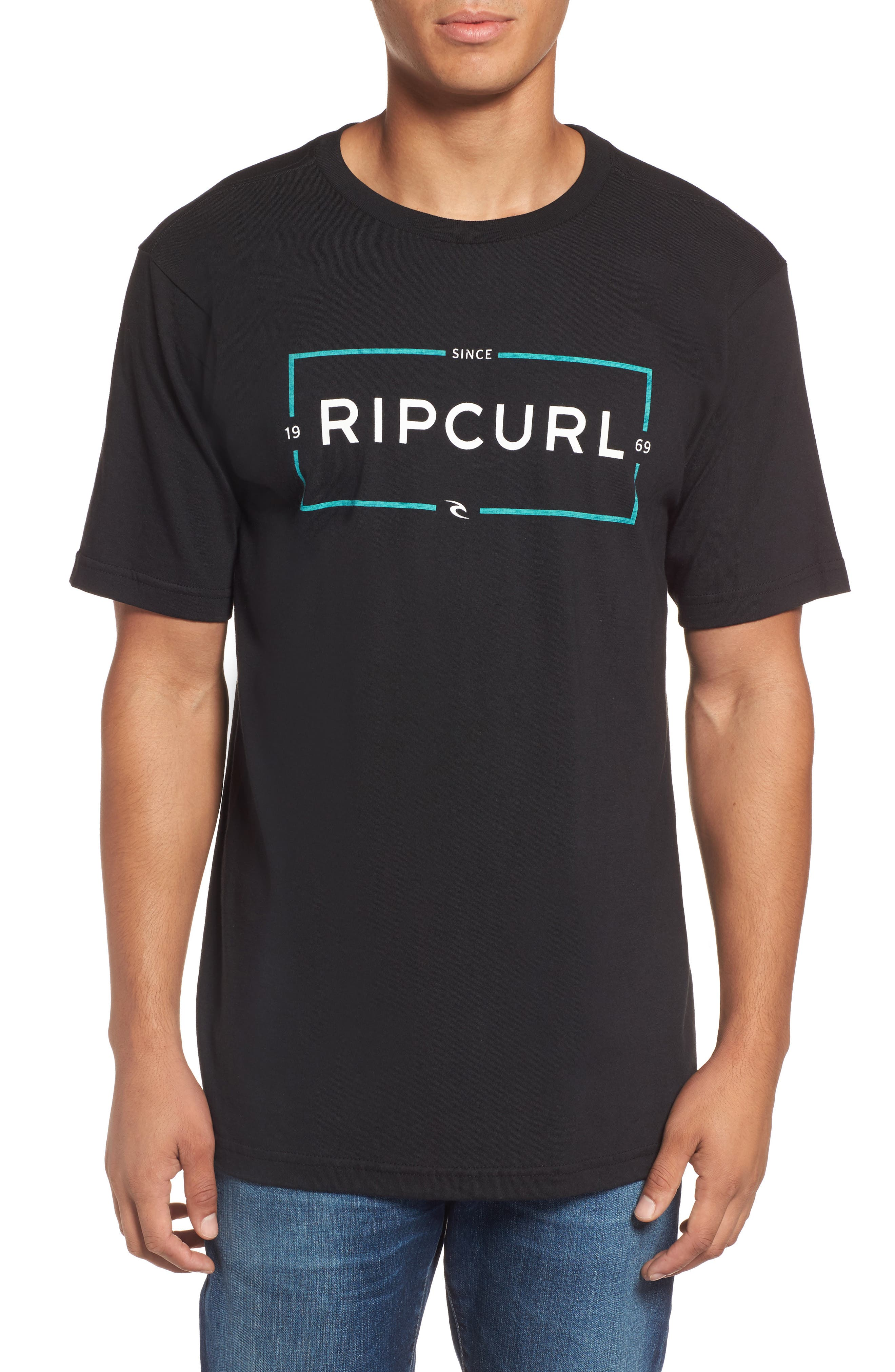 Alternate Image 1 Selected - Rip Curl Cage Classic Graphic T-Shirt