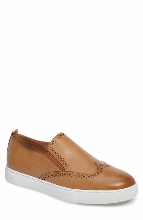 Zanzara Bacher Wingtip Slip-On Sneaker (Men)