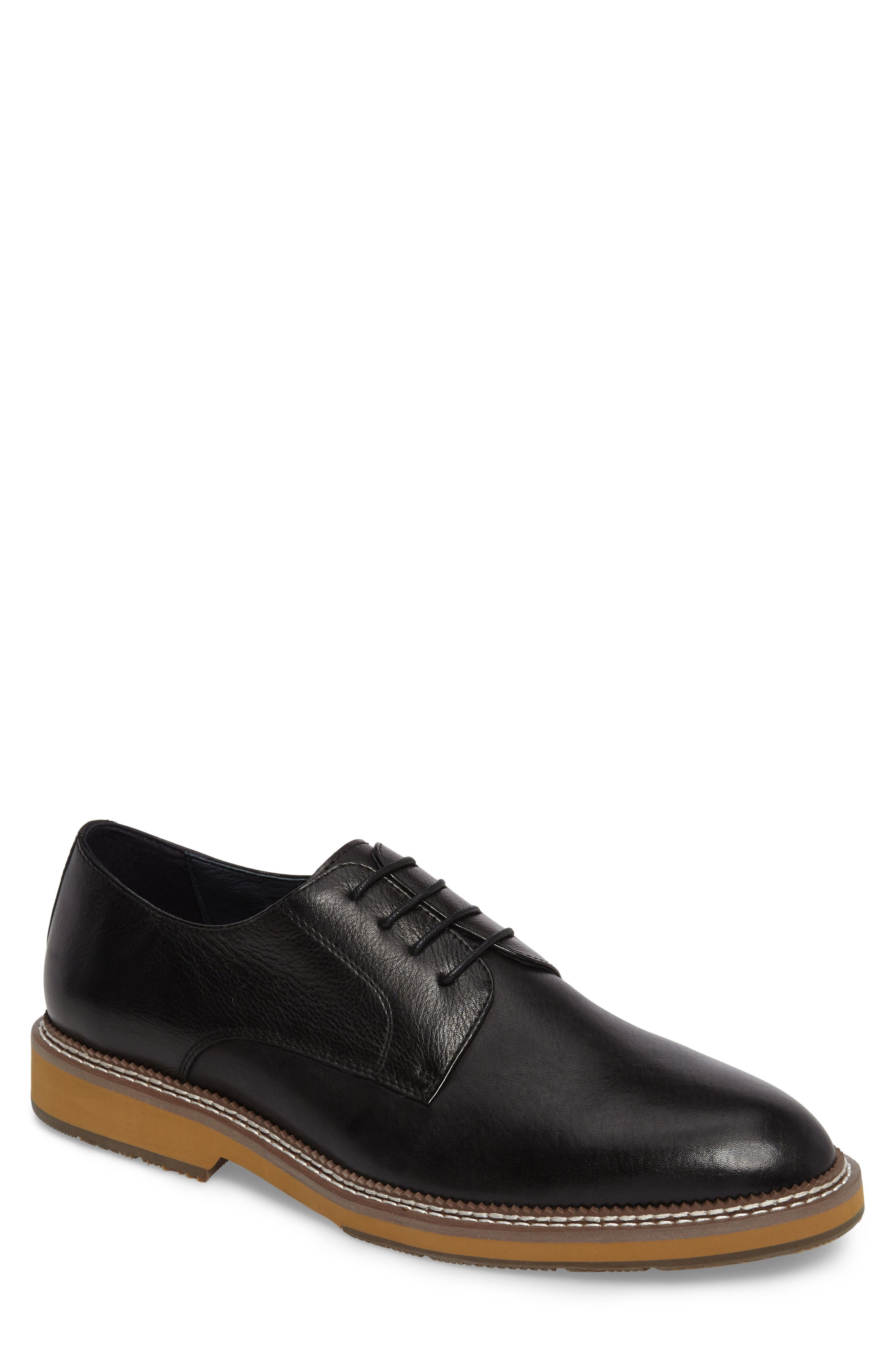 Alternate Image 1 Selected - Zanzara Fenton Plain Toe Derby (Men)