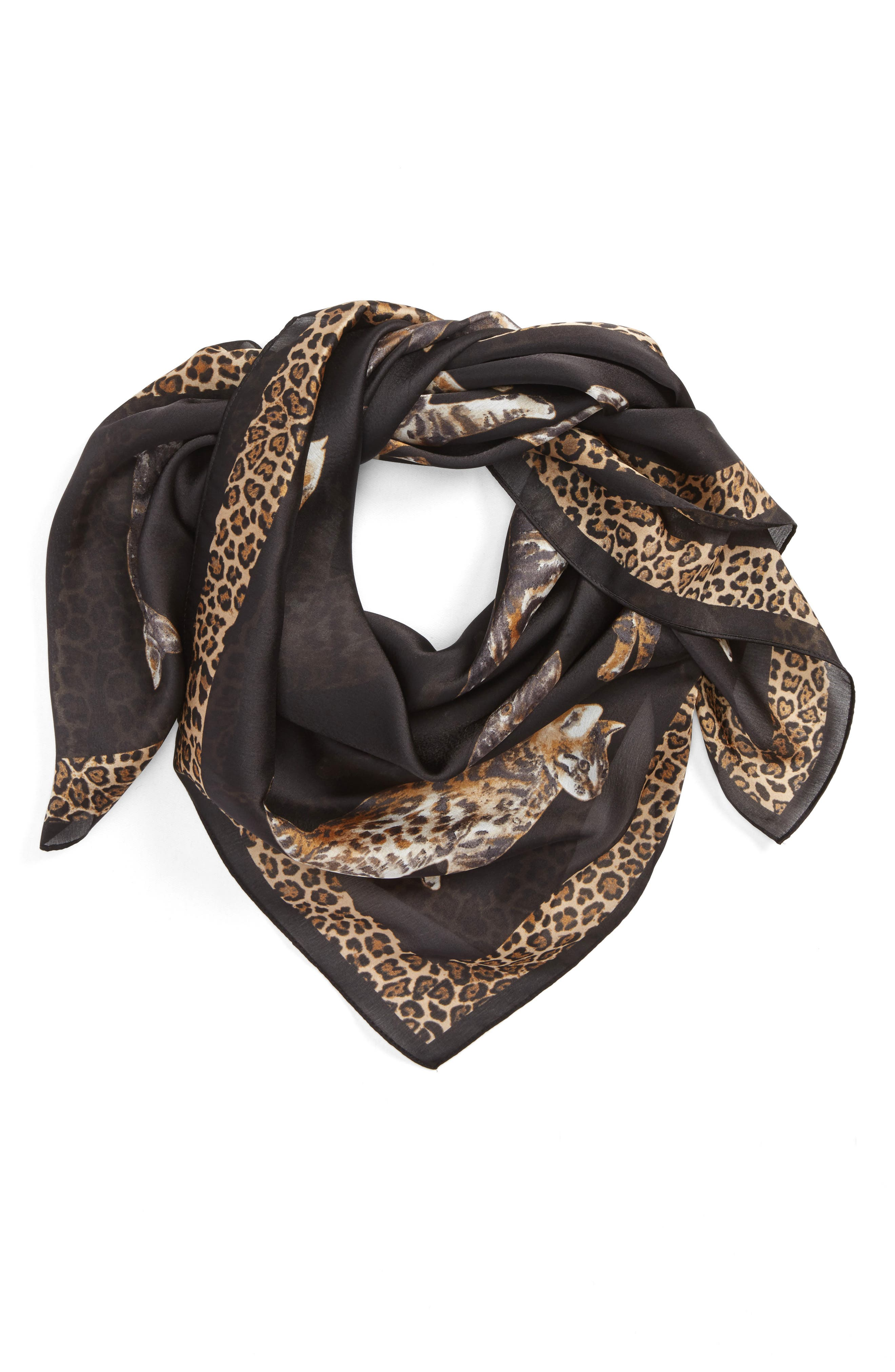 Main Image - Collection XIIX Caturday Square Scarf