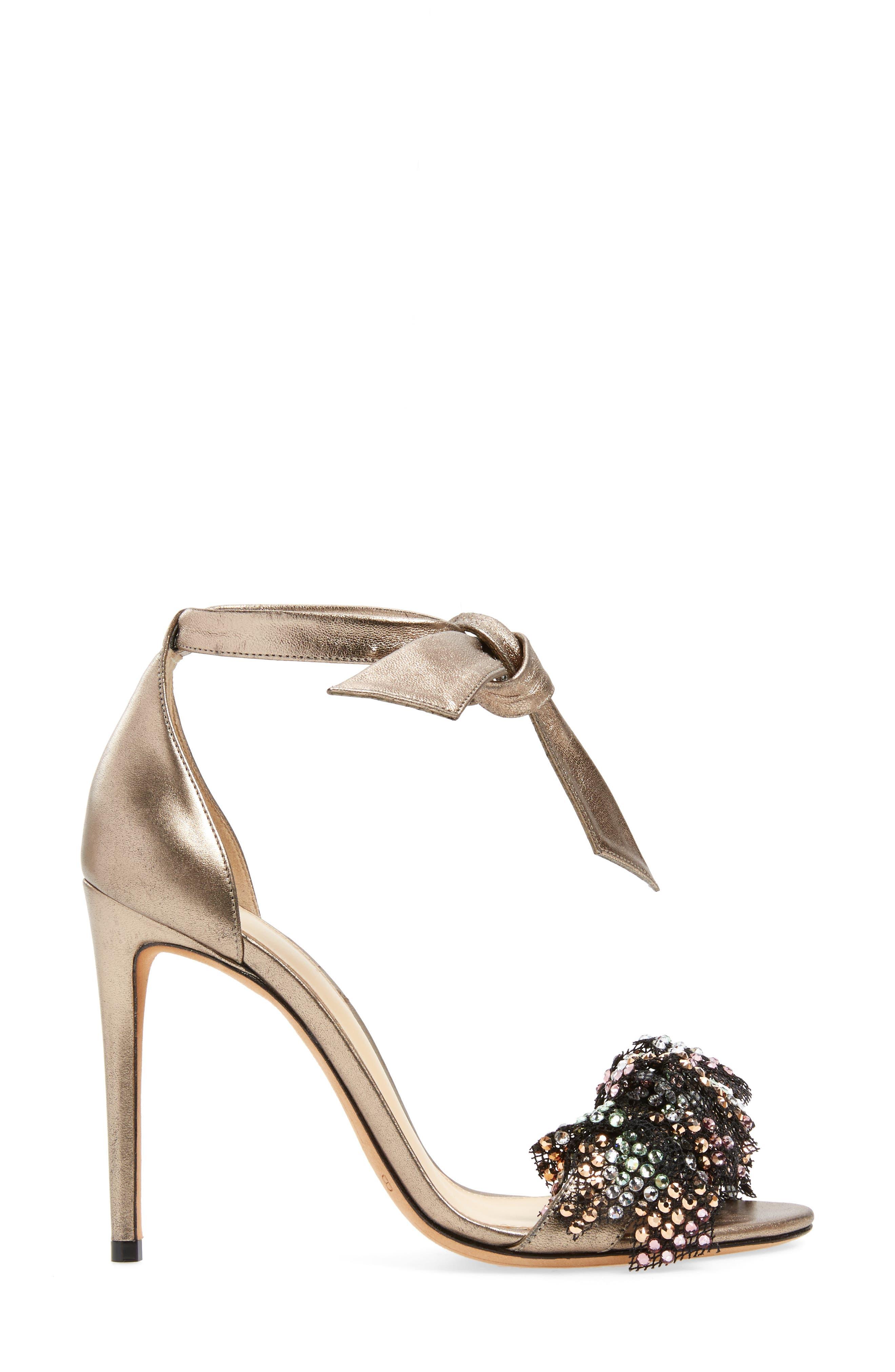 Alternate Image 3  - Alexandre Birman Clarita Show Embellished Ankle Tie Sandal