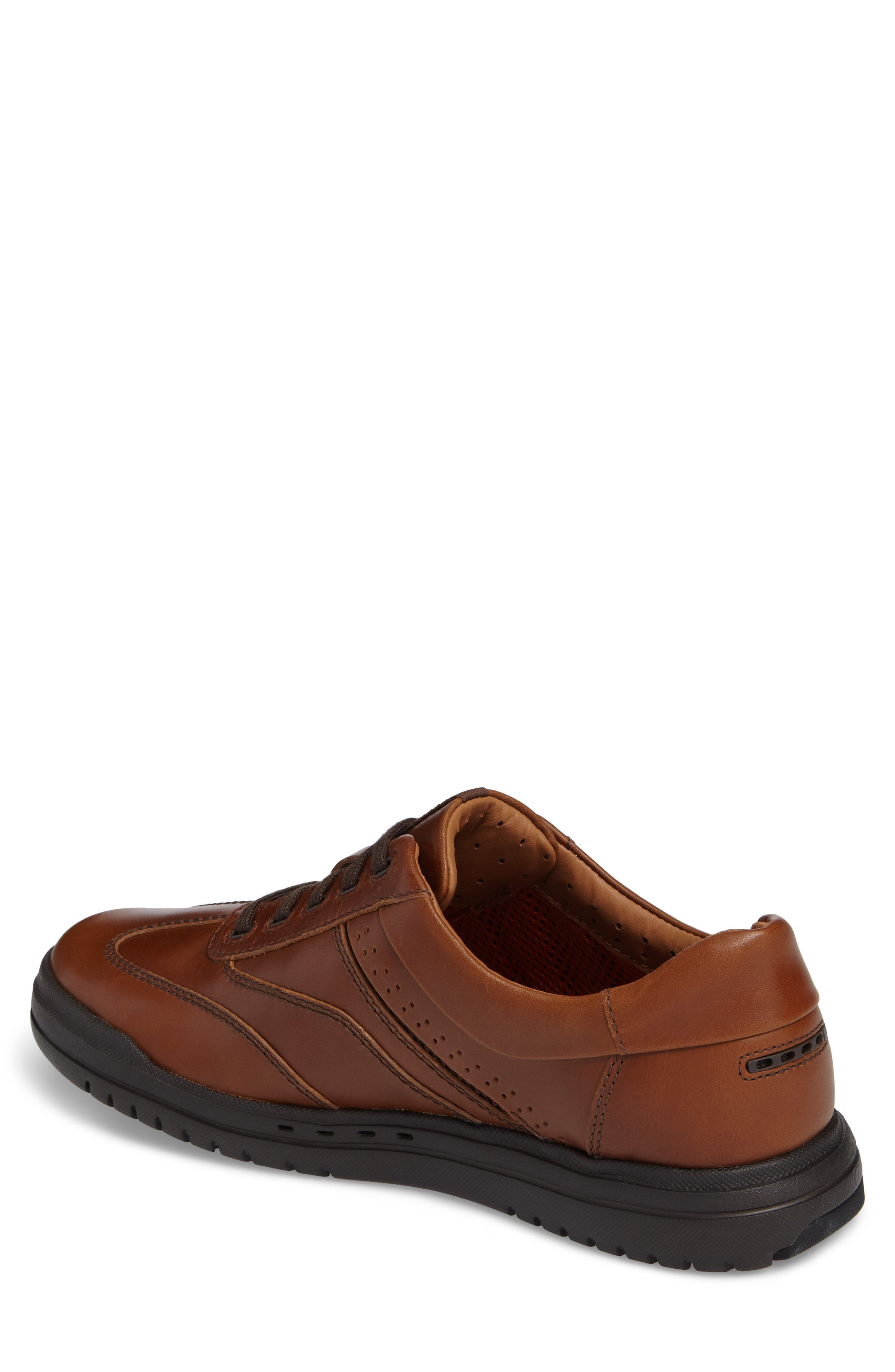 Un.Rhombus Fly Sneaker,                             Alternate thumbnail 2, color,                             Tan Leather