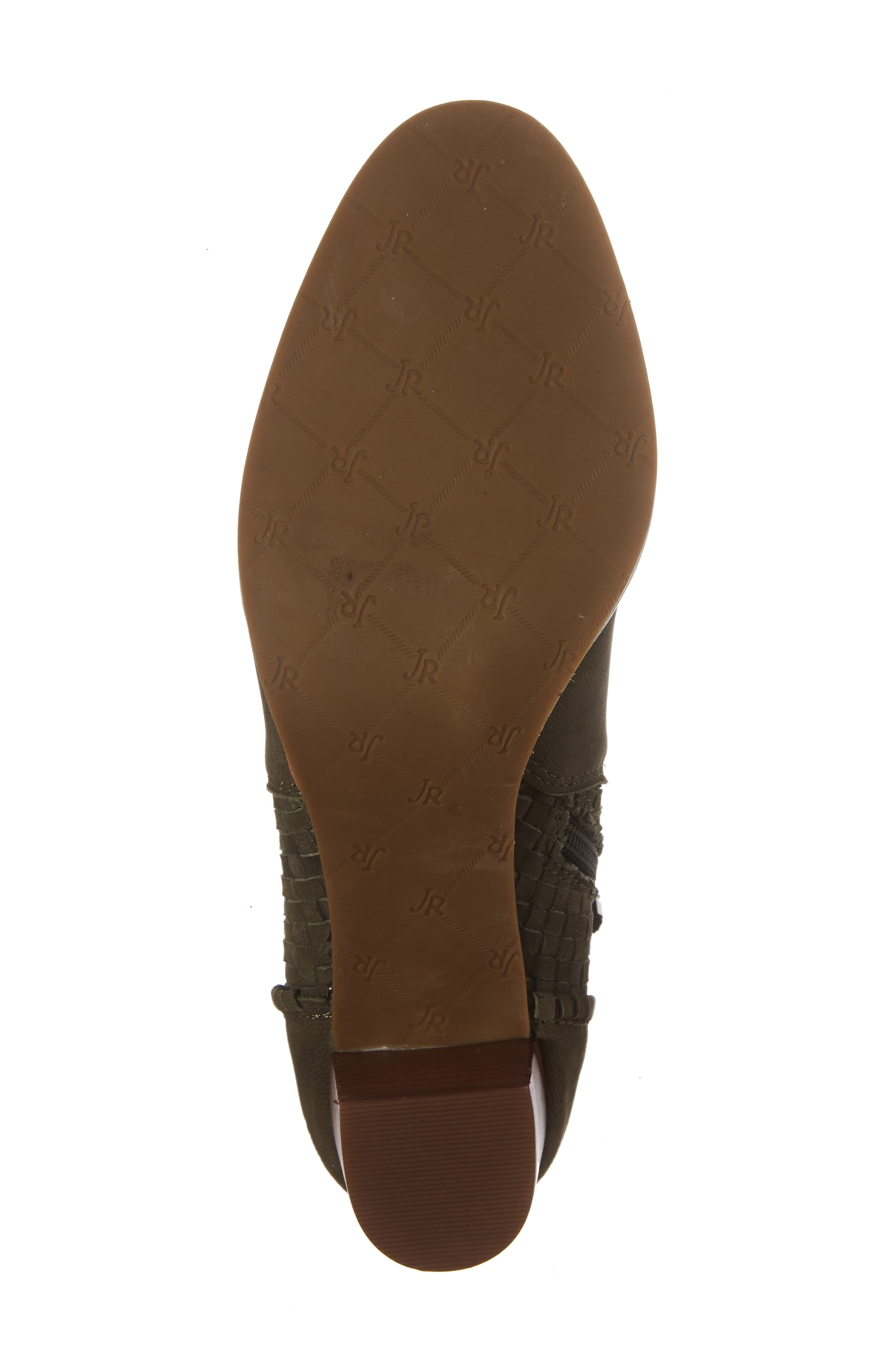 Deborah Bootie,                             Alternate thumbnail 6, color,                             Olive Leather