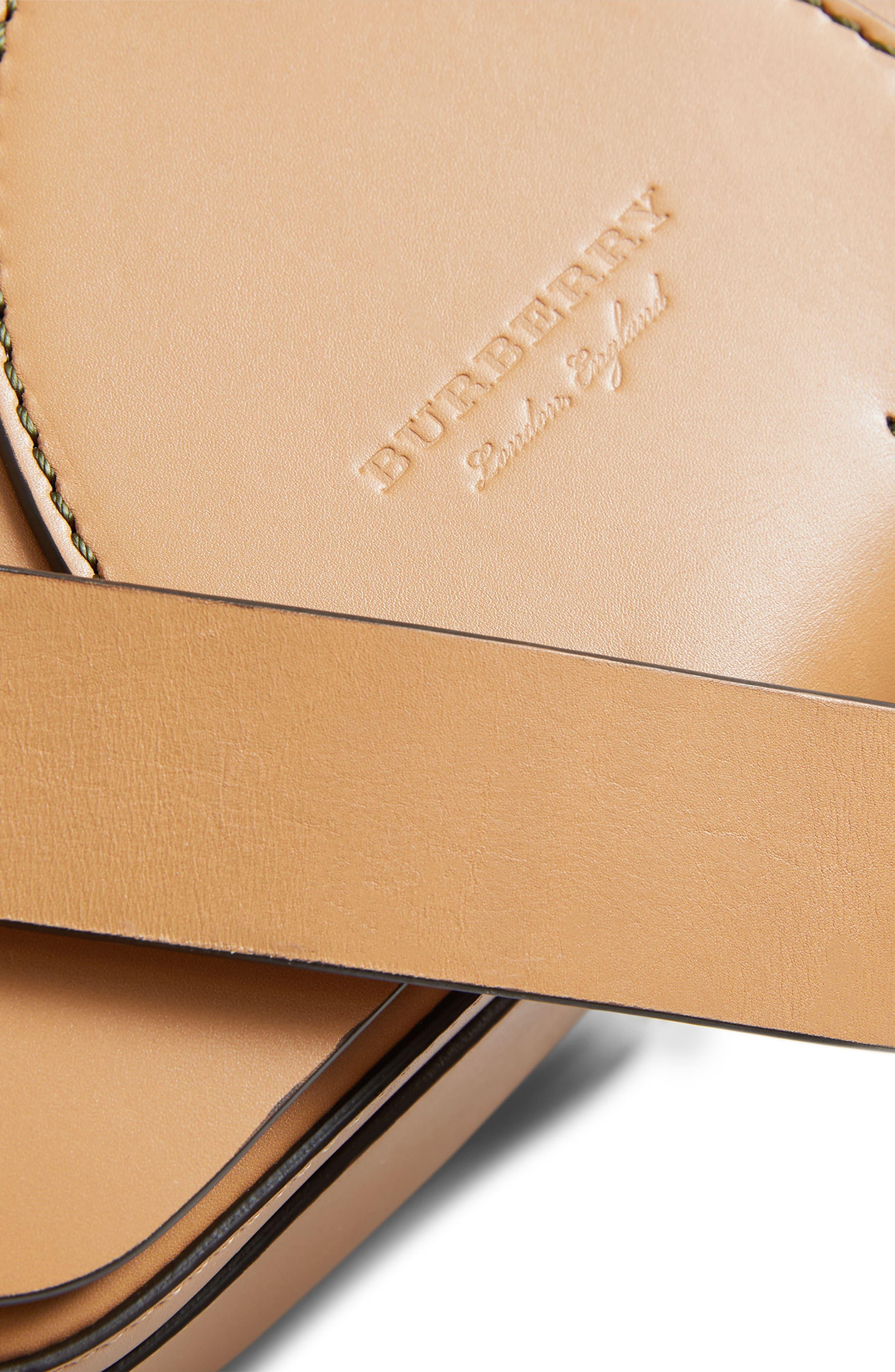 Alternate Image 7  - Burberry Leather Shoulder Bag