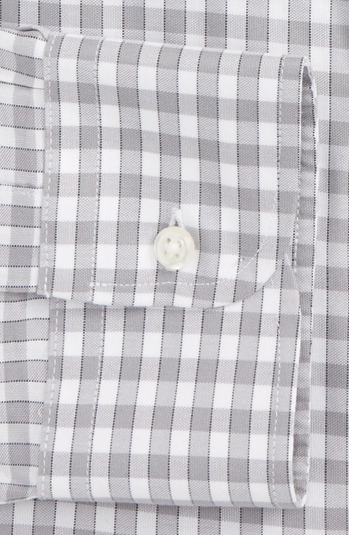 Alternate Image 5  - Nordstrom Men's Shop Smartcare™ Trim Fit Check Dress Shirt