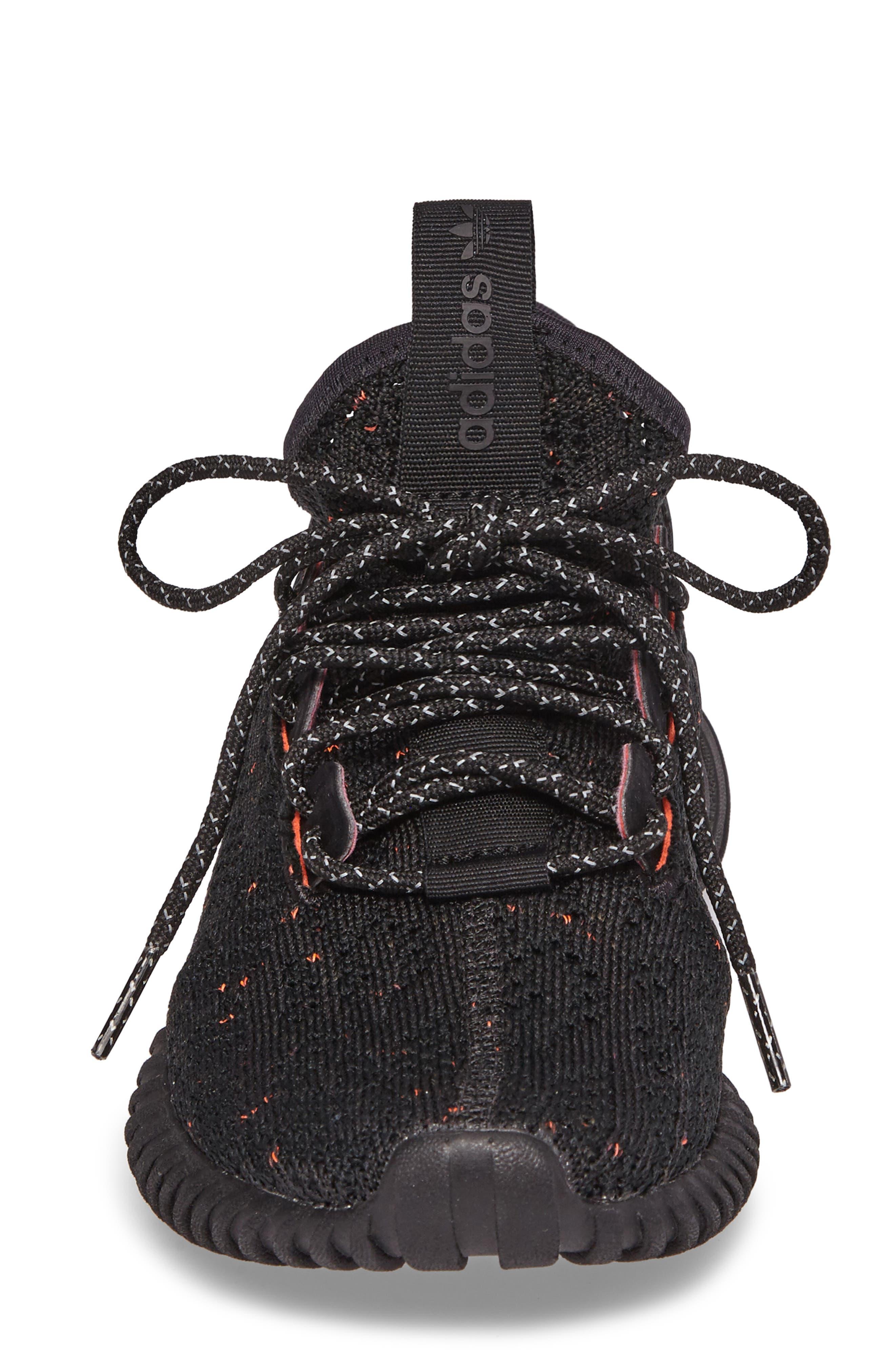 Alternate Image 4  - adidas Tubular Doom Primeknit Sneaker (Big Kid)