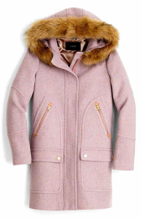 Women's Purple Wool & Wool-Blend Coats | Nordstrom
