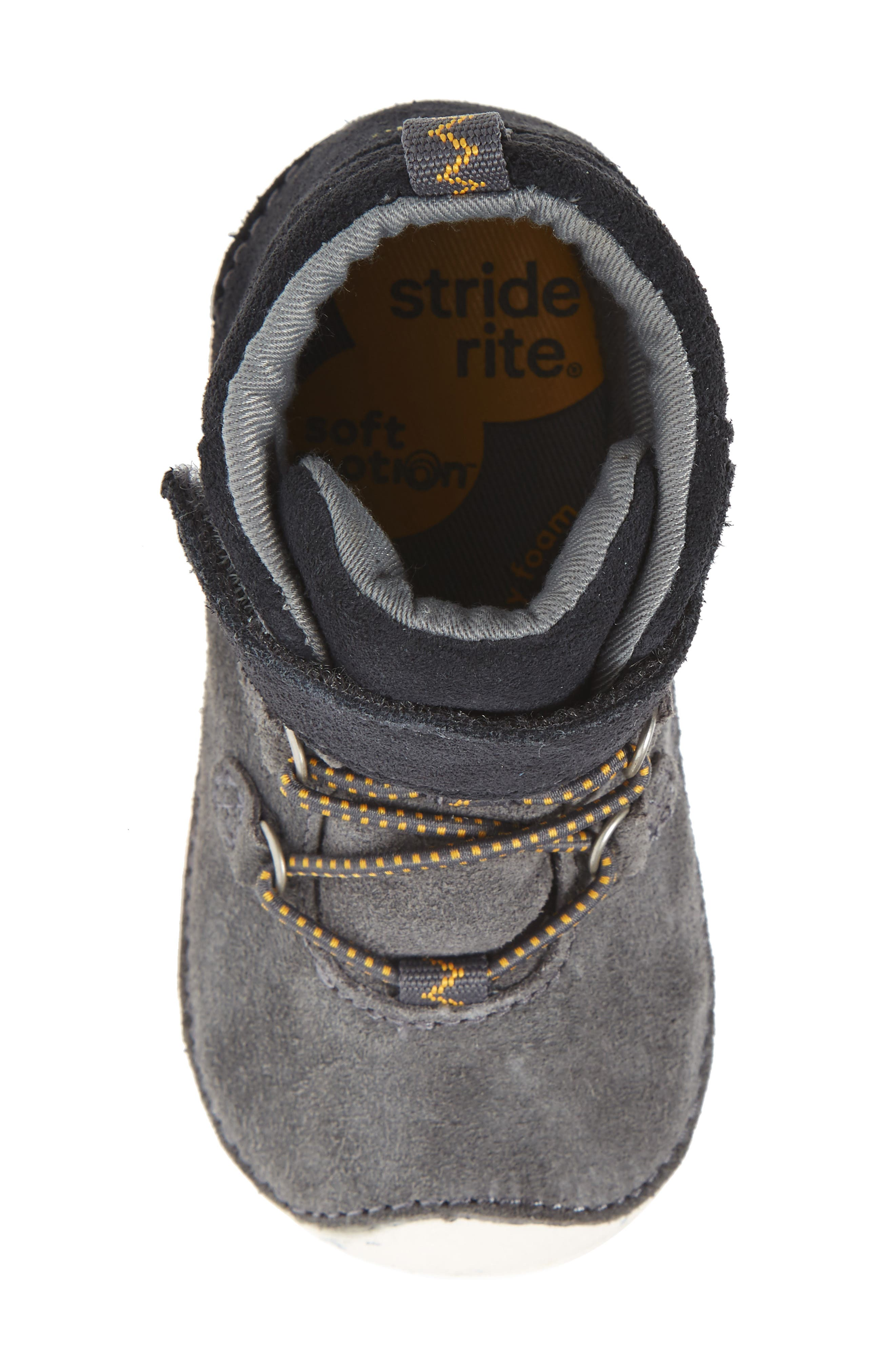 Soft Motion<sup>™</sup> Oliver High Top Sneaker,                             Alternate thumbnail 5, color,                             Grey Suede