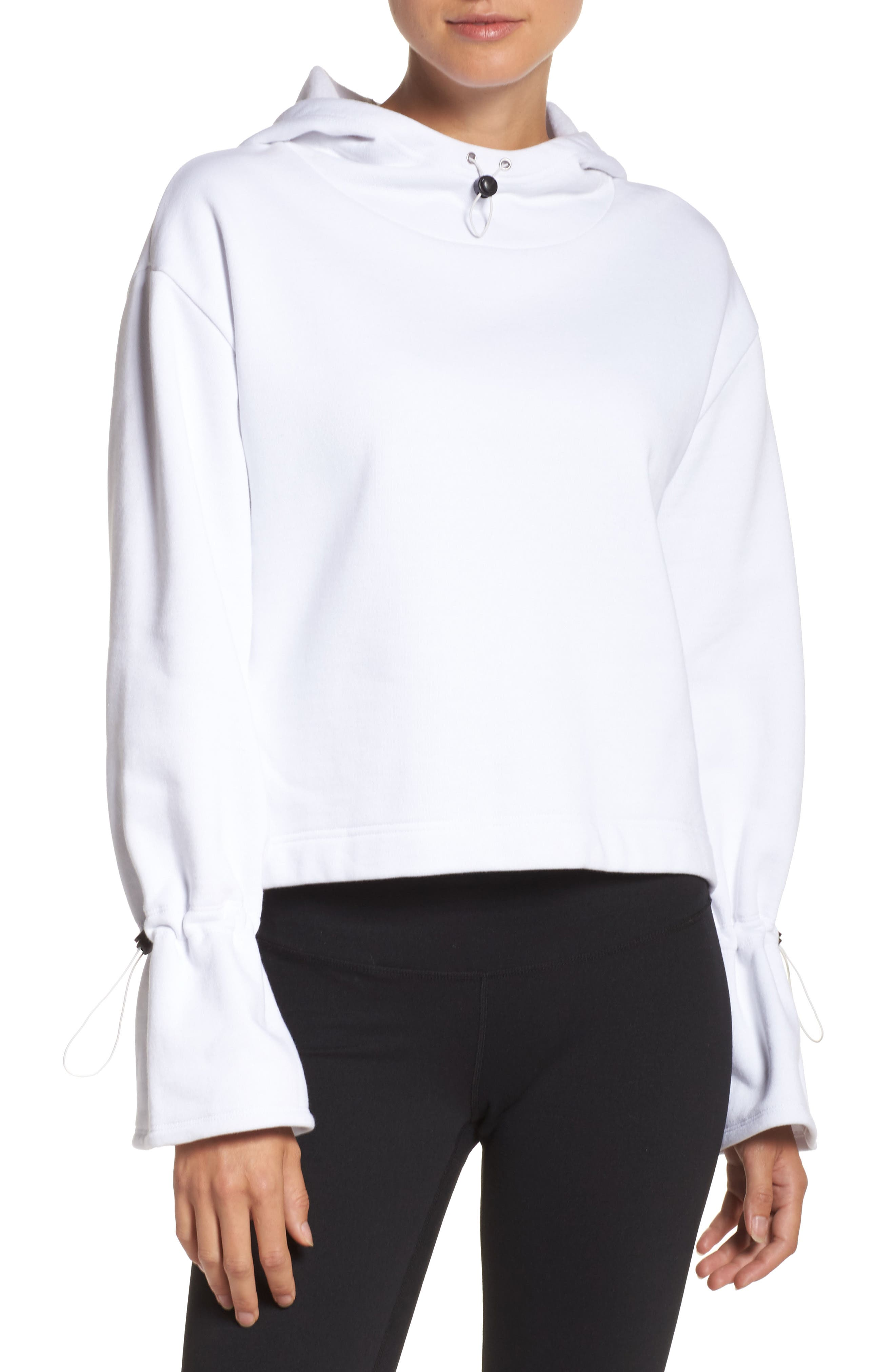 Alternate Image 1 Selected - Zella Generation Crop Hoodie