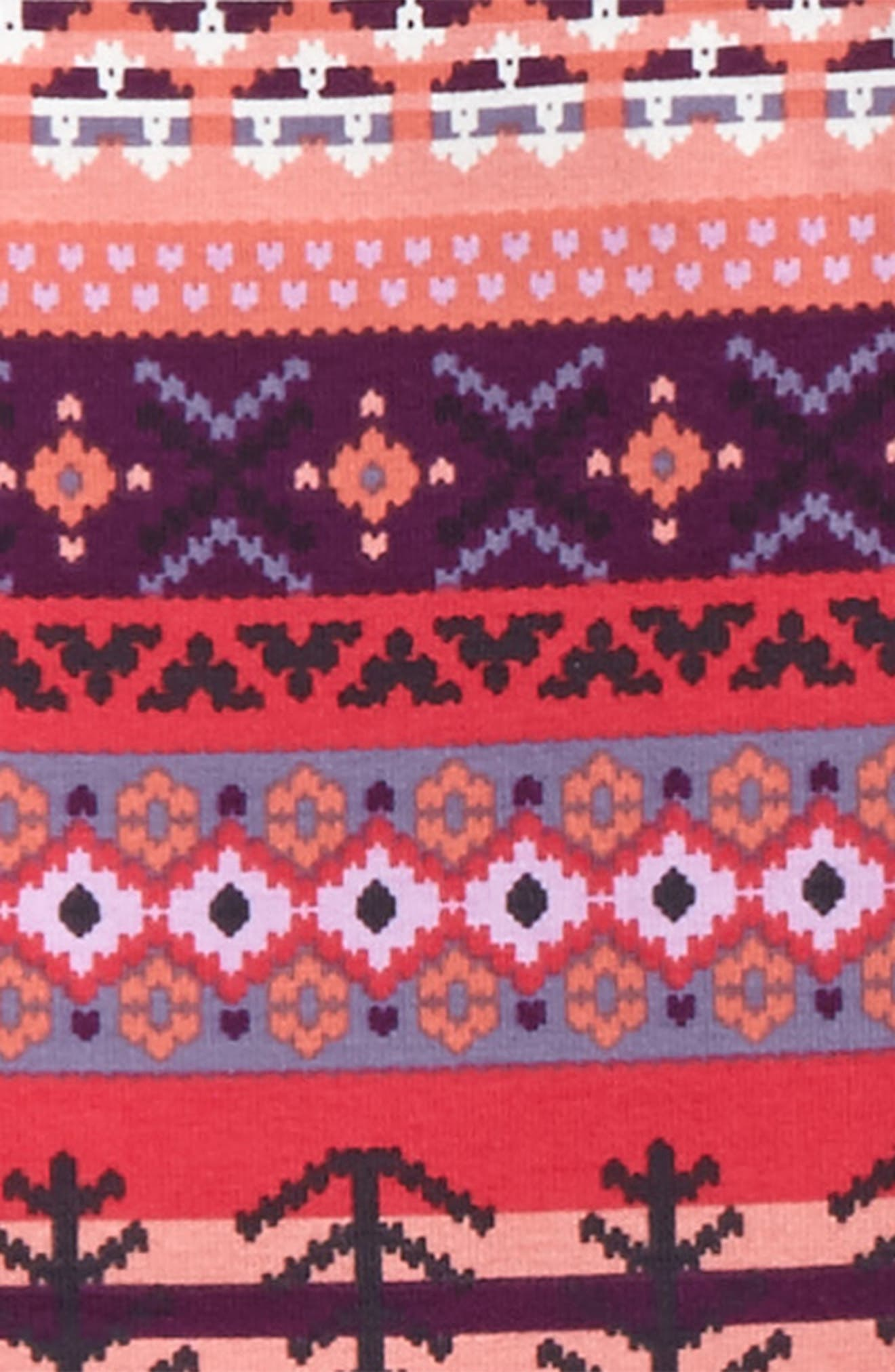 Alternate Image 2  - Tea Collection Fair Isle Leggings (Toddler Girls, Little Girls & Big Girls)