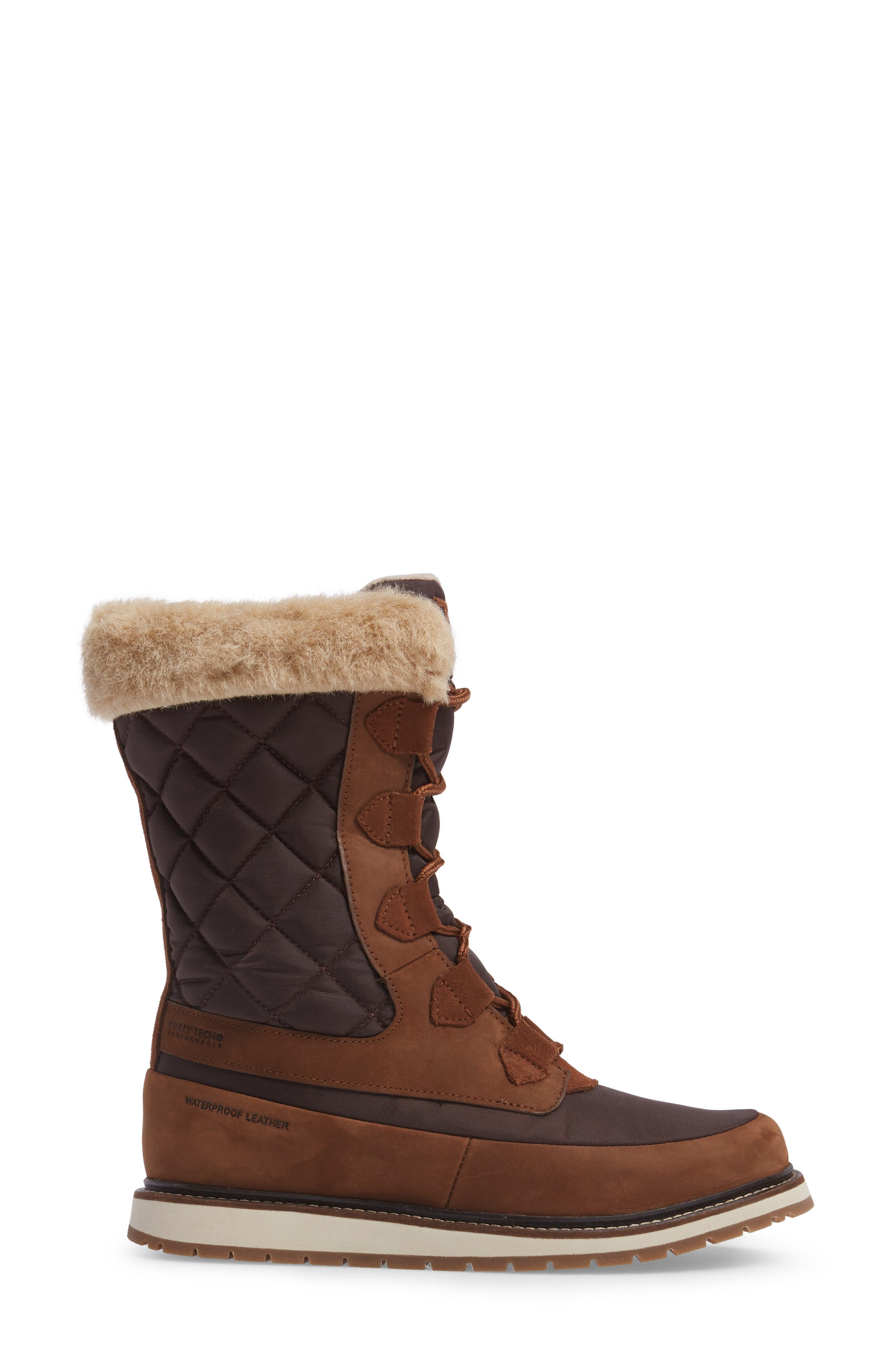 Alternate Image 3  - Helly Hansen Arosa Waterproof Boot with Faux Fur Trim (Women)