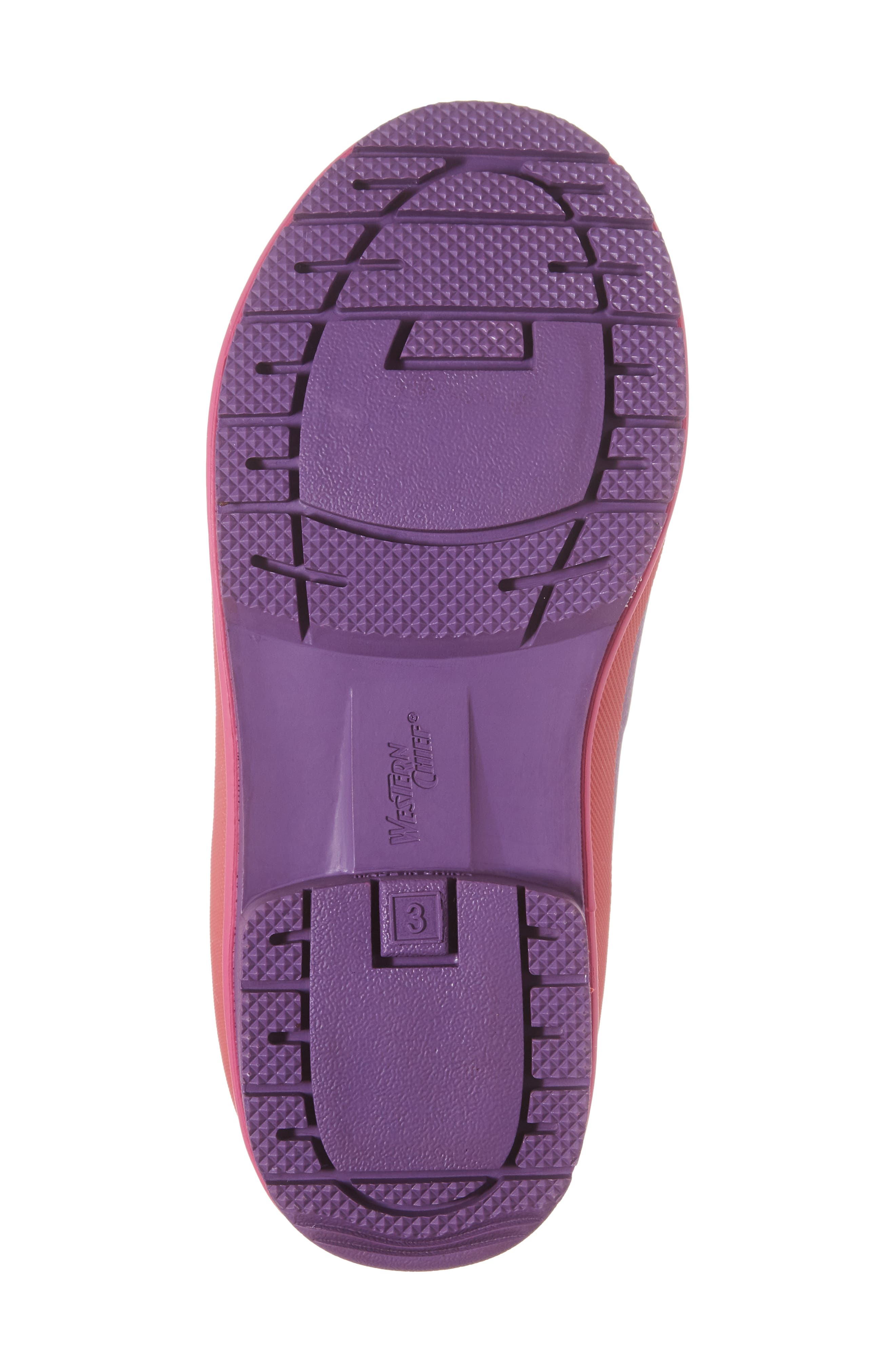 Neoprene Purple Snow Boot,                             Alternate thumbnail 6, color,                             Purple