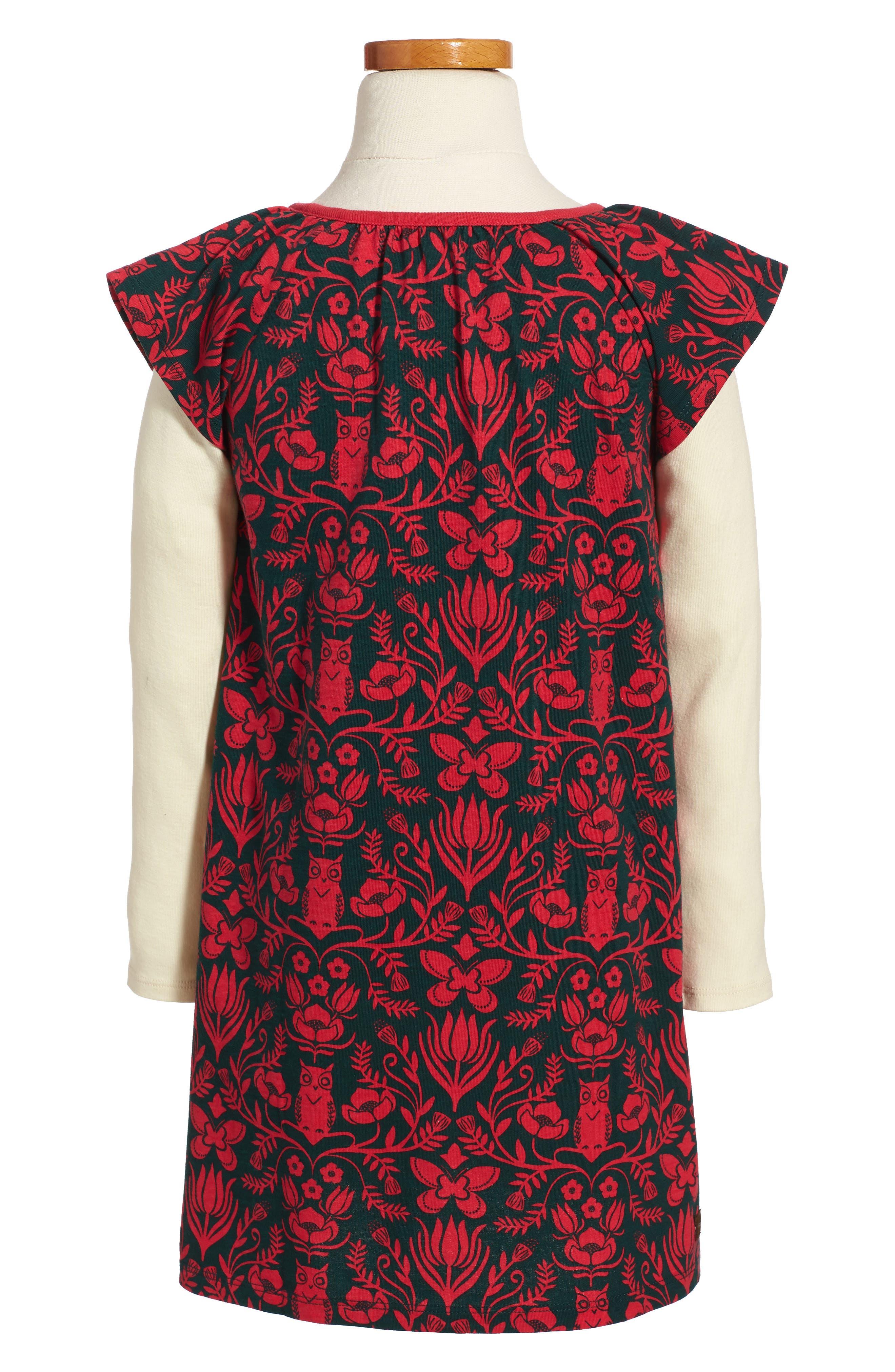 Alternate Image 2  - Tea Collection McKenna Flutter Dress (Toddler Girls, Little Girls & Big Girls)