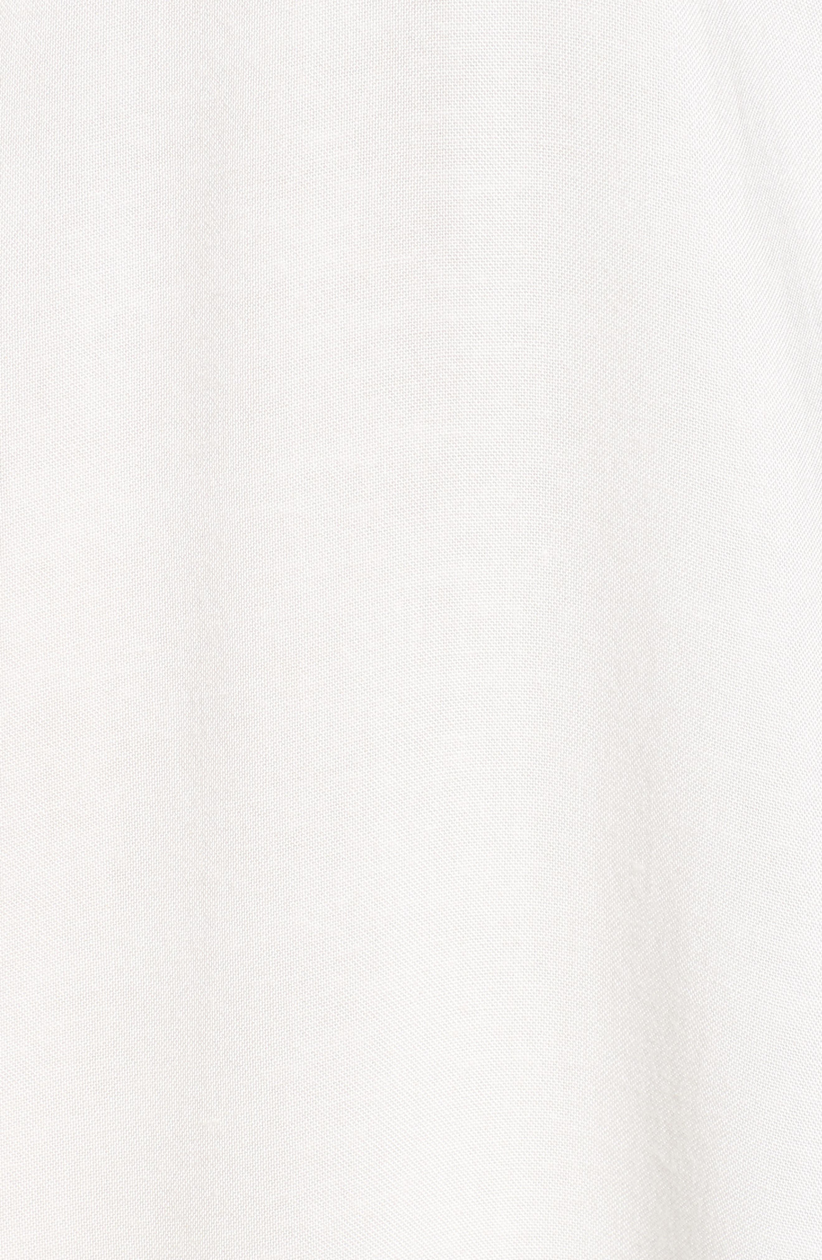 Kymberly Embroidered Blouse,                             Alternate thumbnail 5, color,                             Ivory