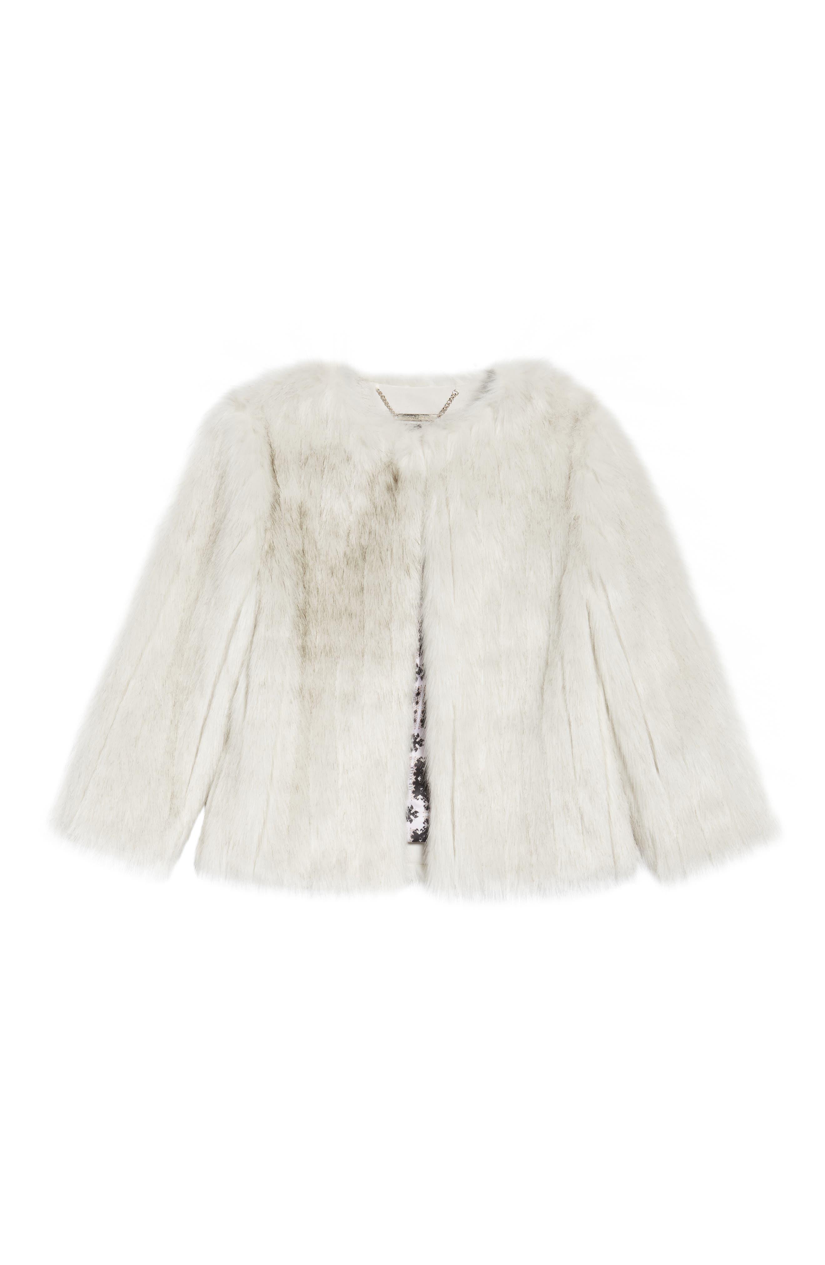 Alternate Image 6  - Ted Baker London Winter Faux Fur Jacket