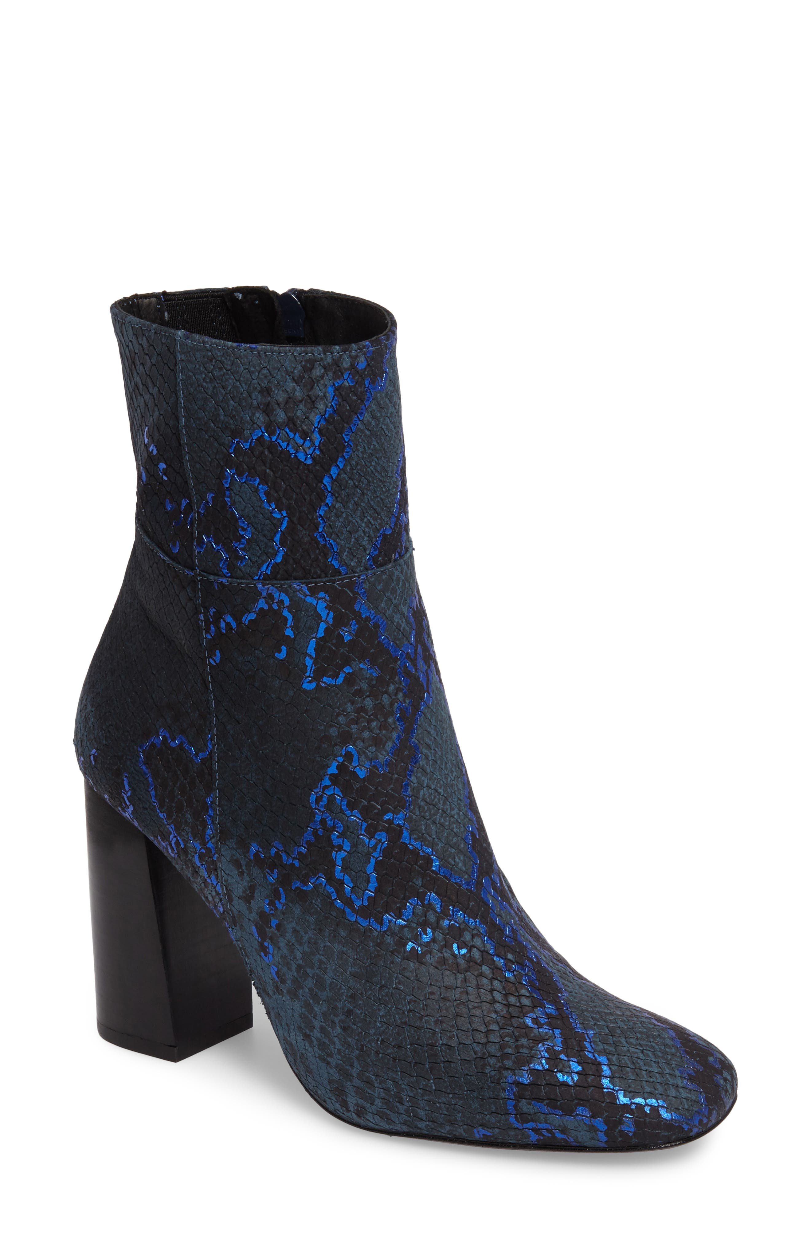 Free People Nolita Block Heel Bootie (Women)