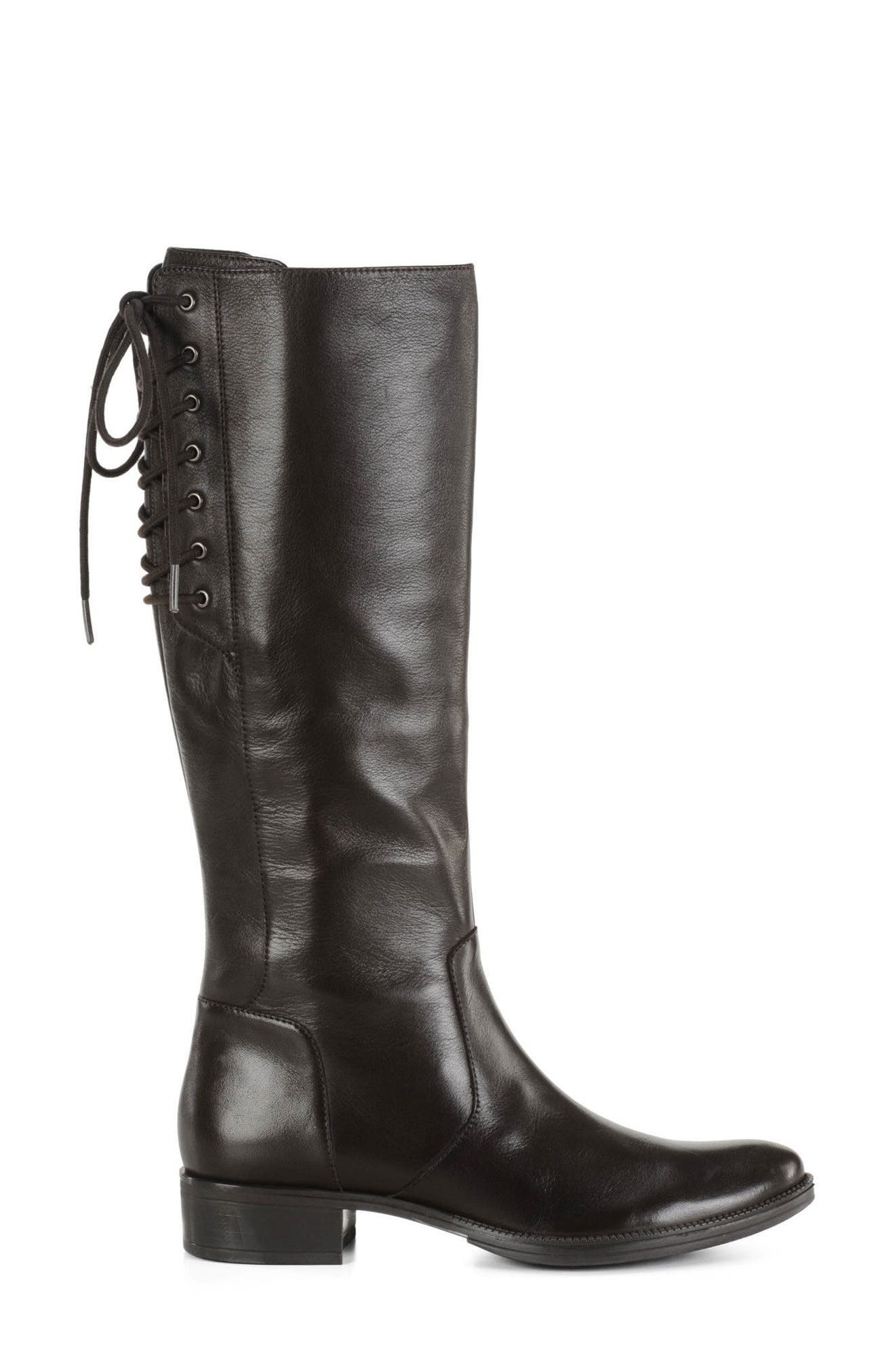 Mendi Tall Boot,                             Alternate thumbnail 3, color,                             Coffee Leather