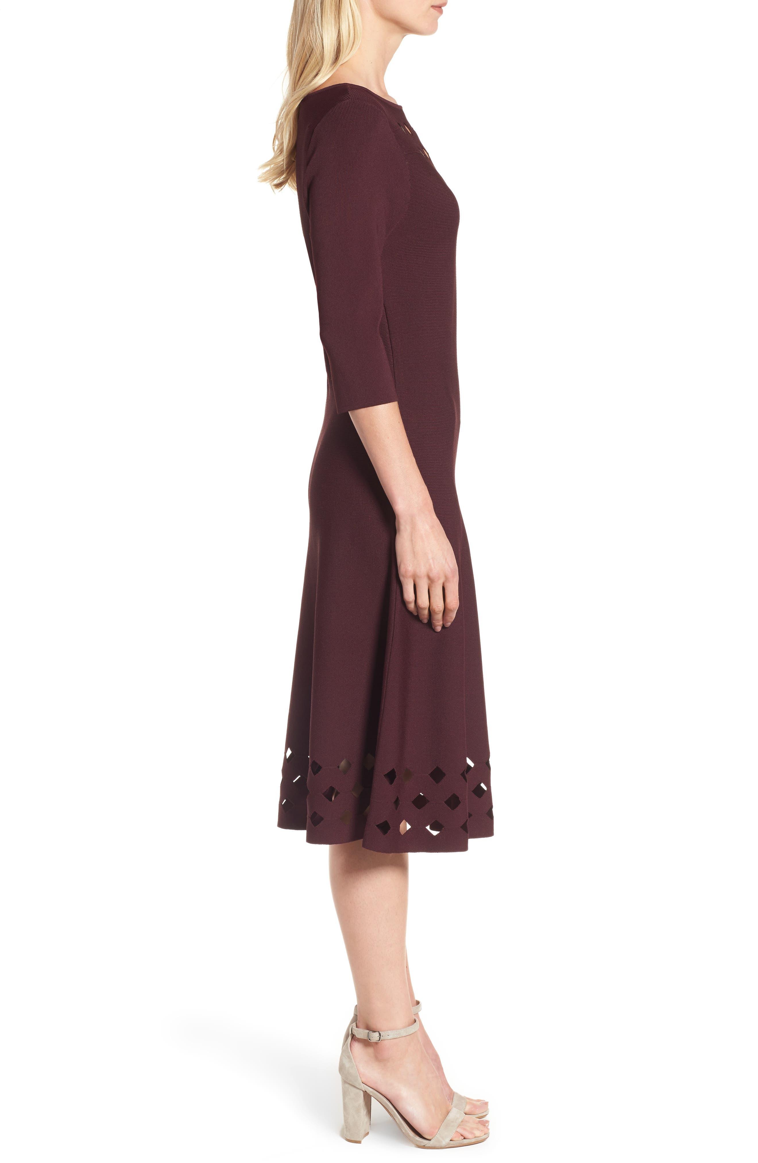 Alternate Image 3  - NIC+ZOE Time Out Twirl Midi Dress (Regular & Petite)