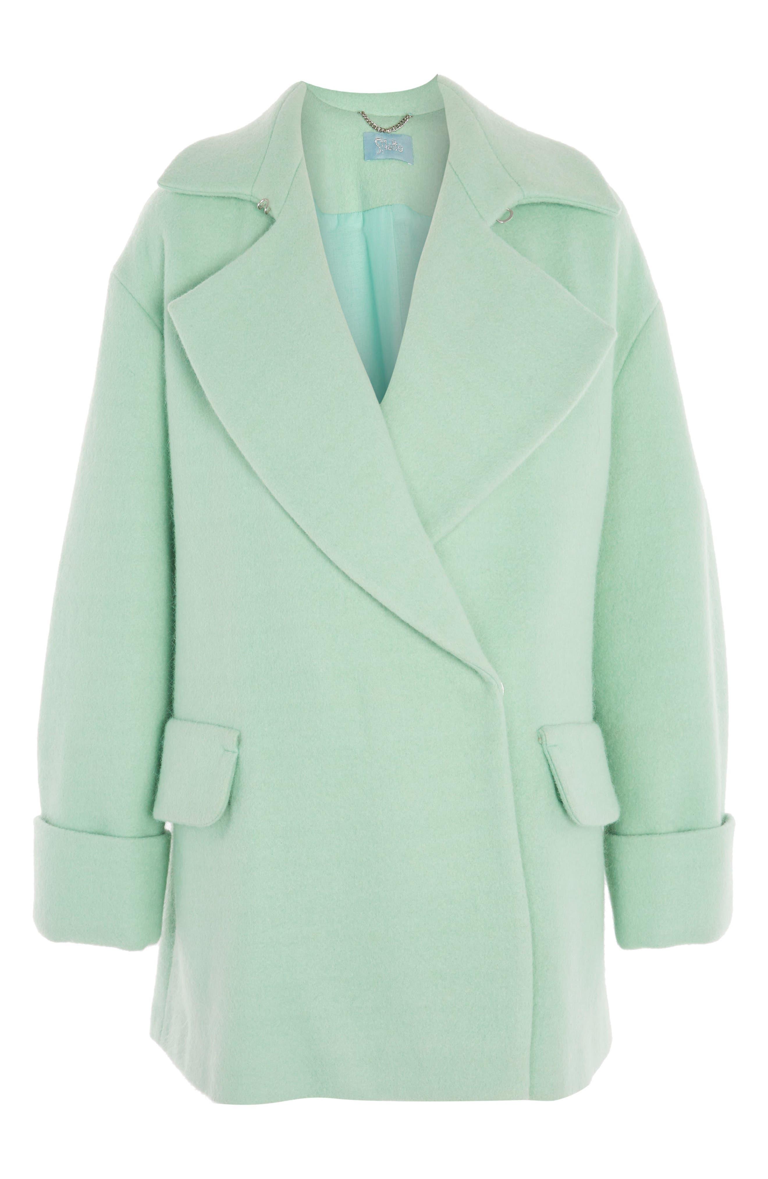 Topshop Swing Coat