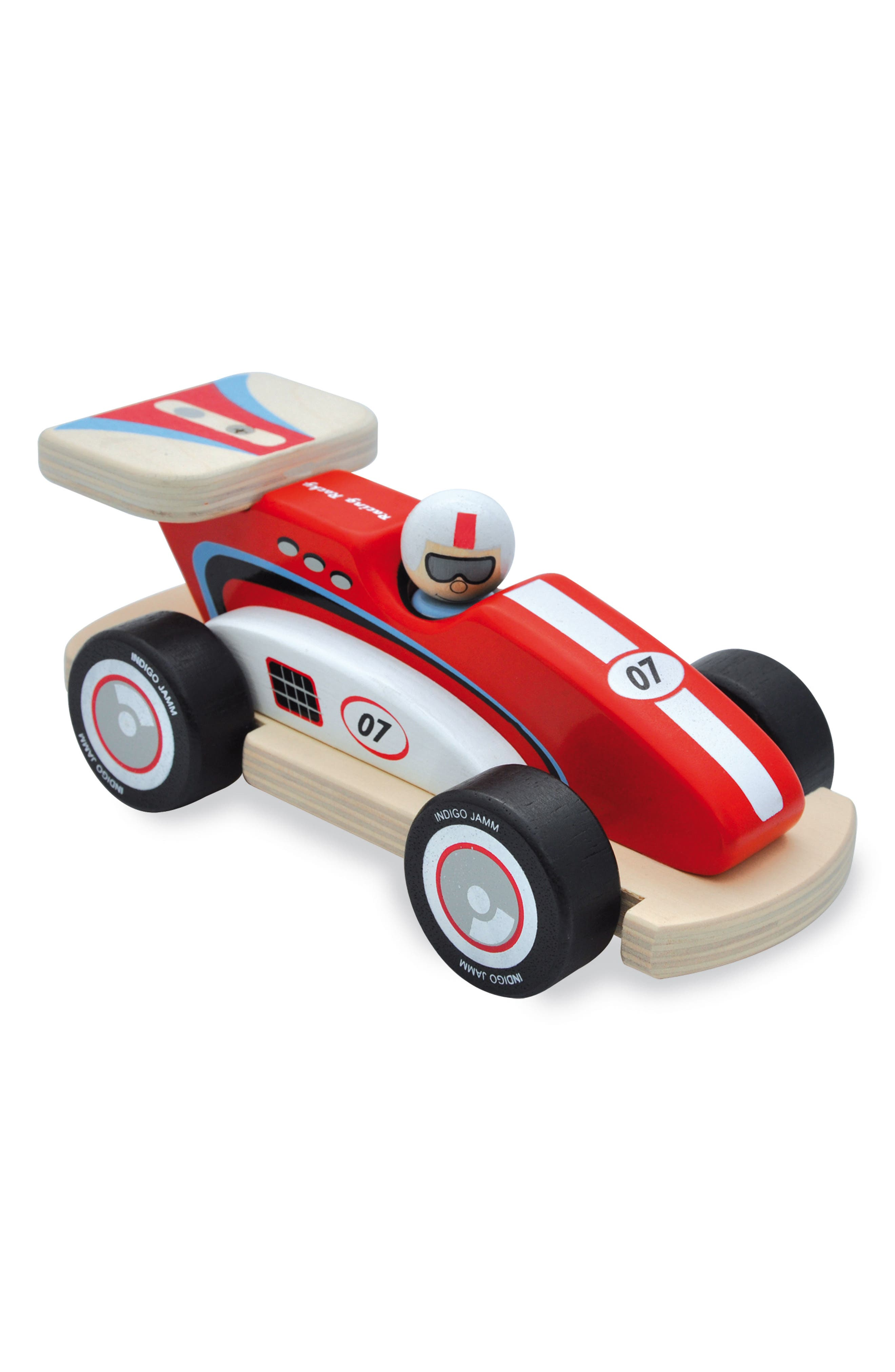 Rocky Racer Racing Car,                         Main,                         color, Red