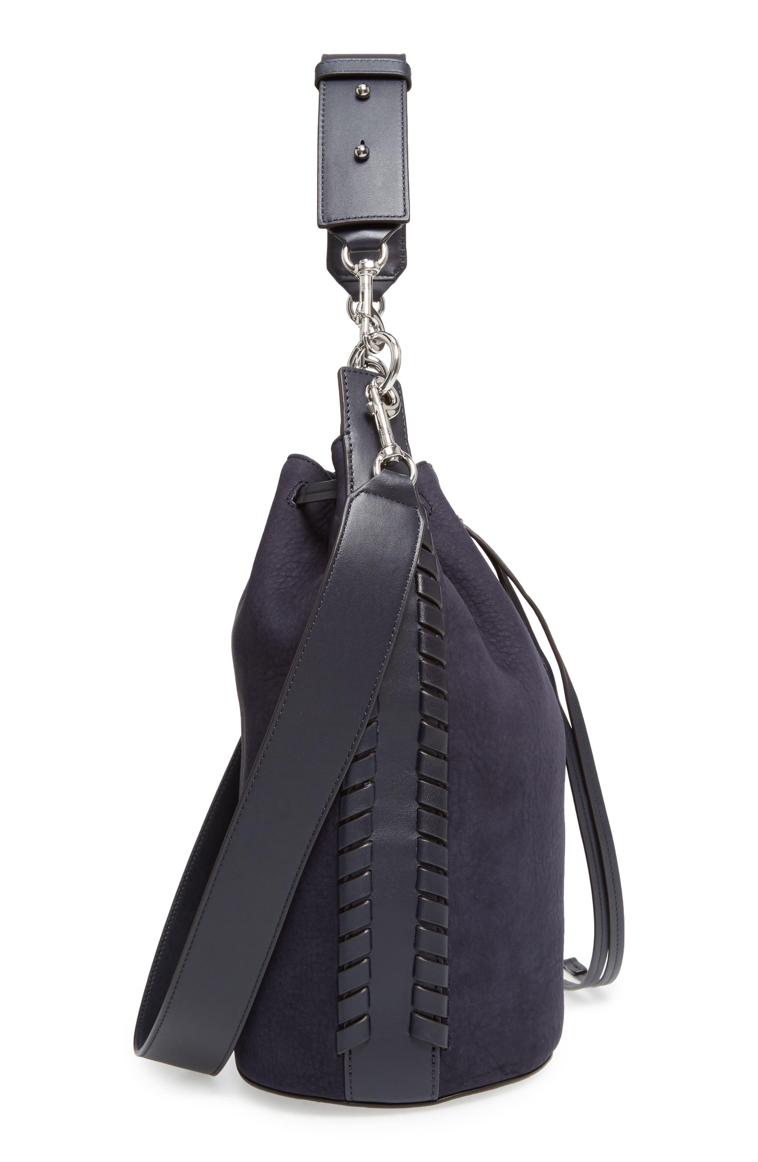 Alternate Image 5  - ALLSAINTS Ray Nubuck Leather Bucket Bag