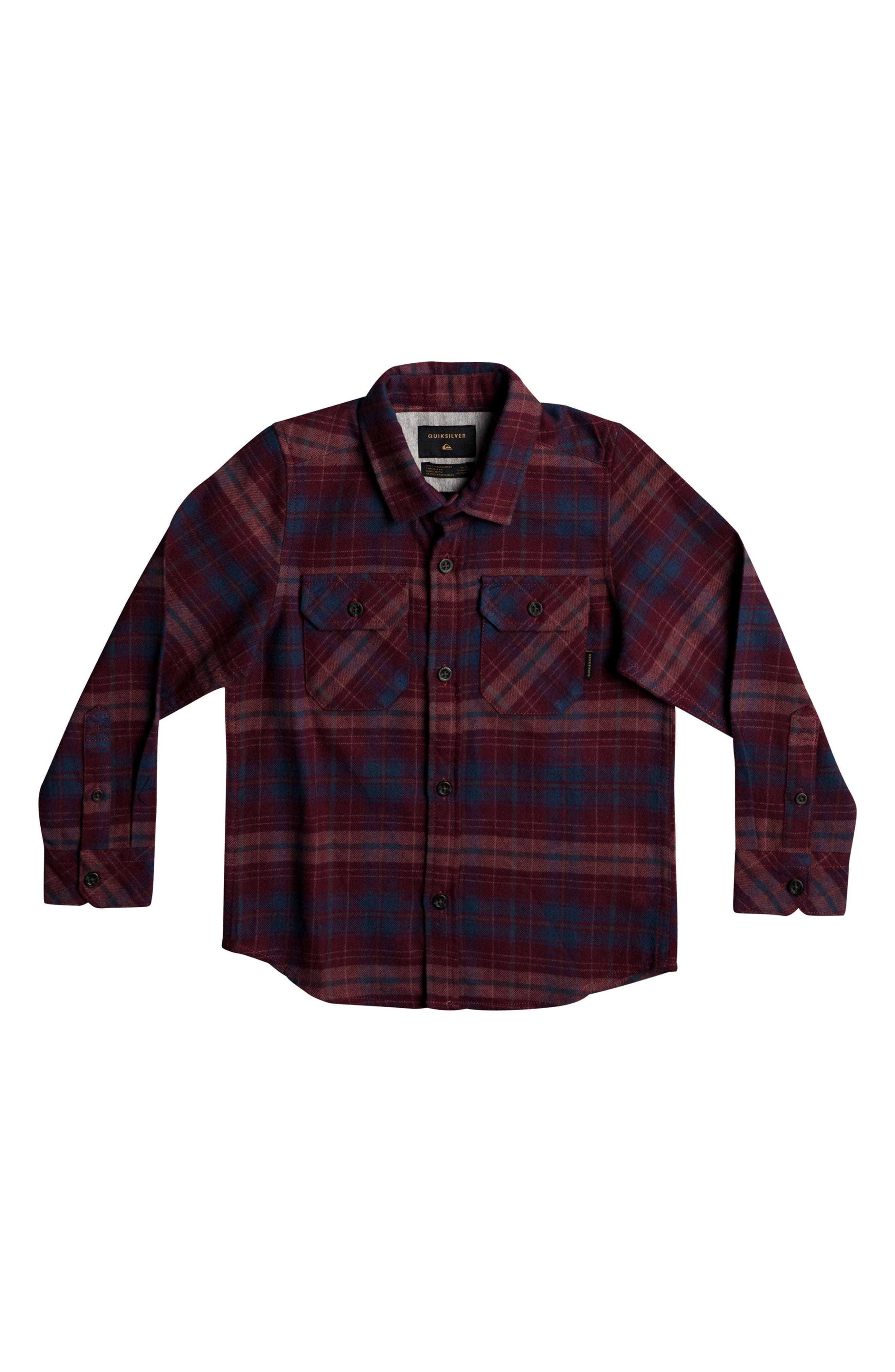 Fitzspeere Plaid Flannel Shirt,                             Main thumbnail 1, color,                             Windsor