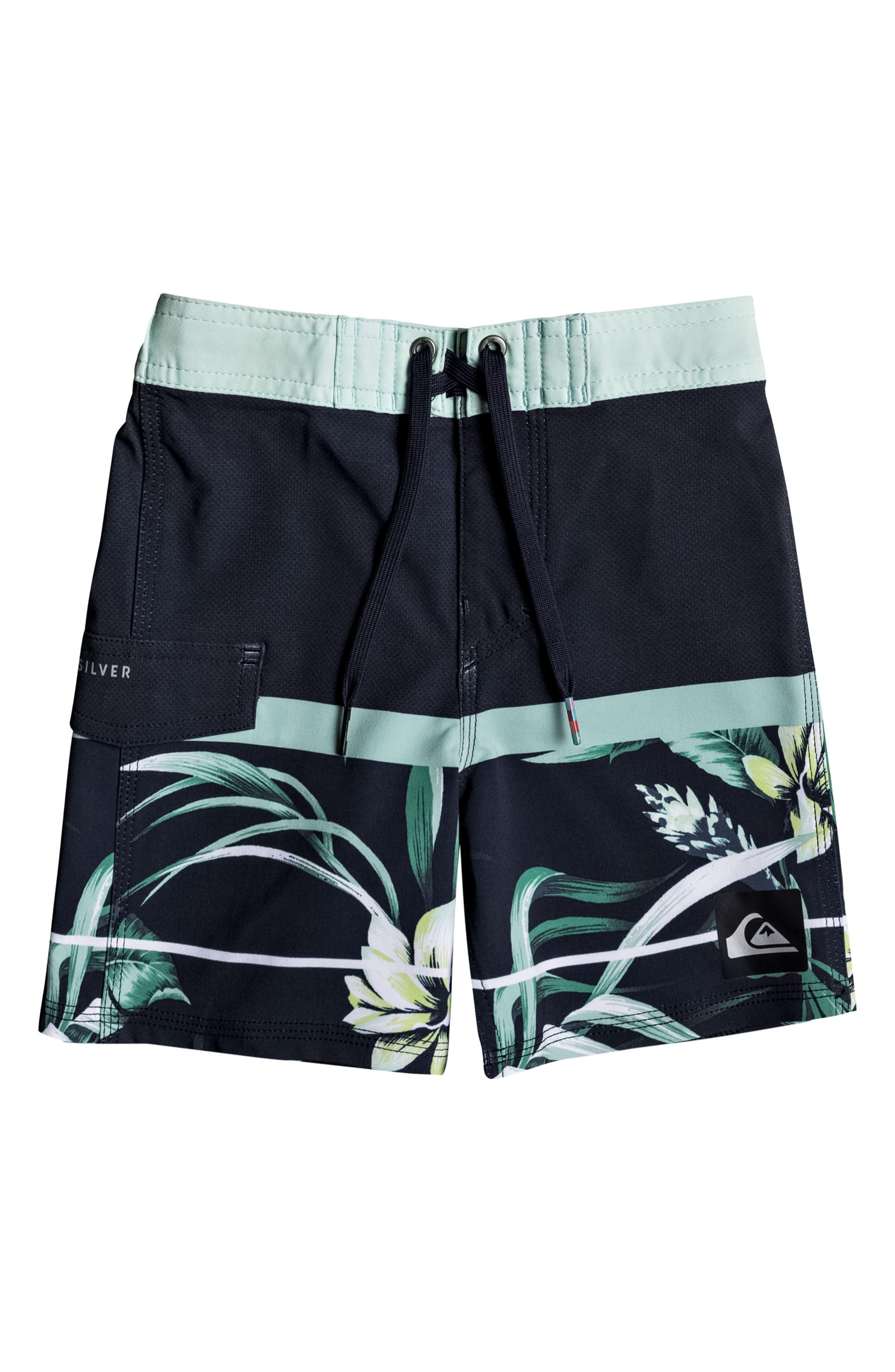 Slab Island Board Shorts,                         Main,                         color, Navy Blazer
