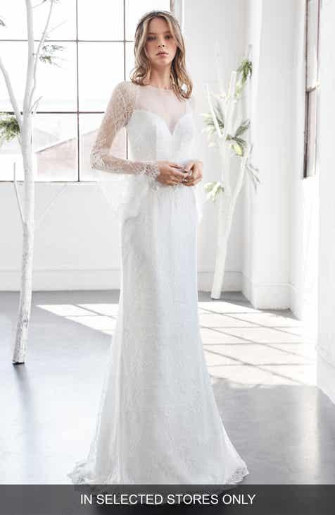 Sheath Wedding Dresses & Bridal Gowns | Nordstrom