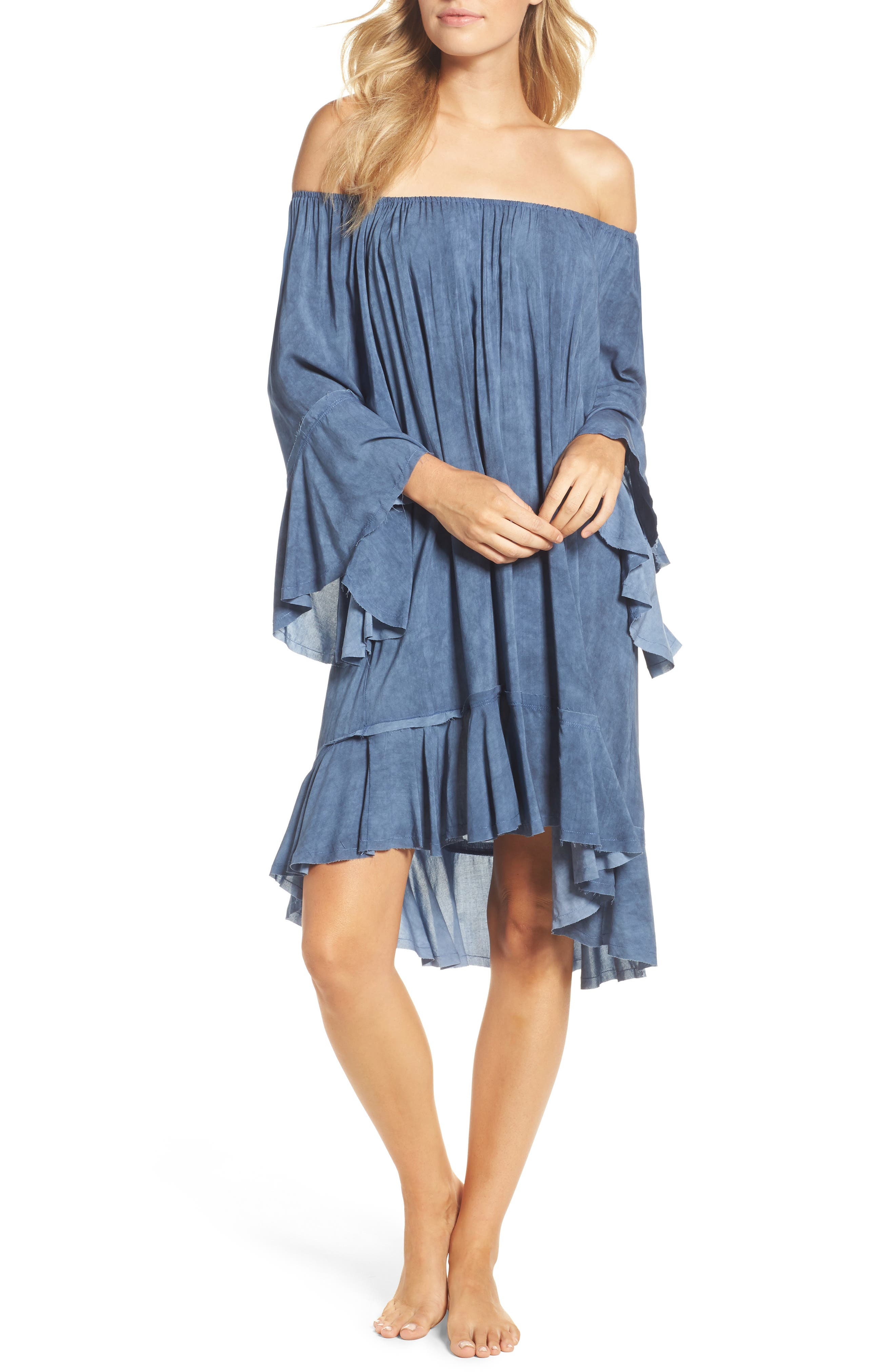 Elan Off the Shoulder Cover-Up