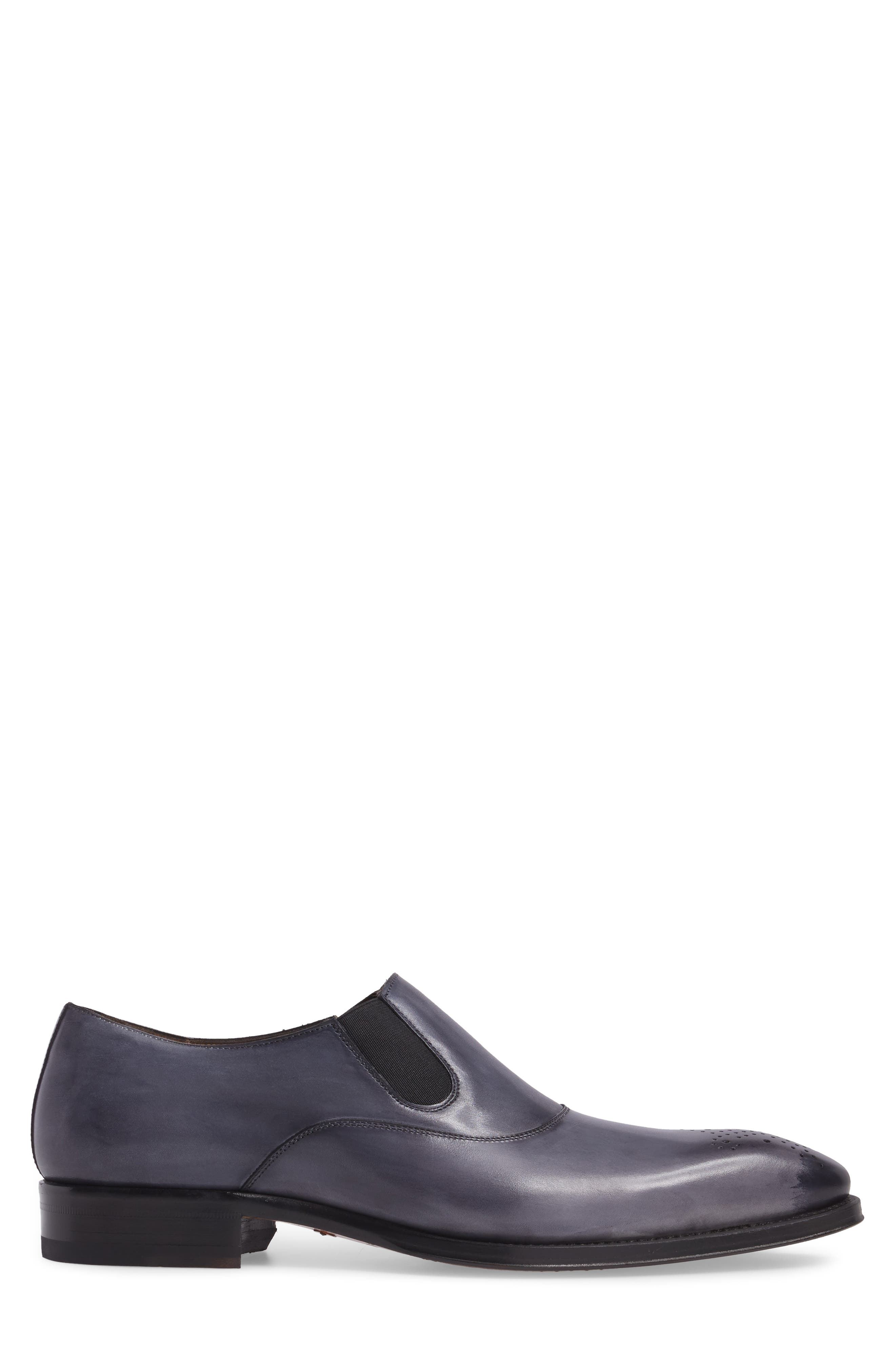Posadas Venetian Loafer,                             Alternate thumbnail 3, color,                             Grey Leather