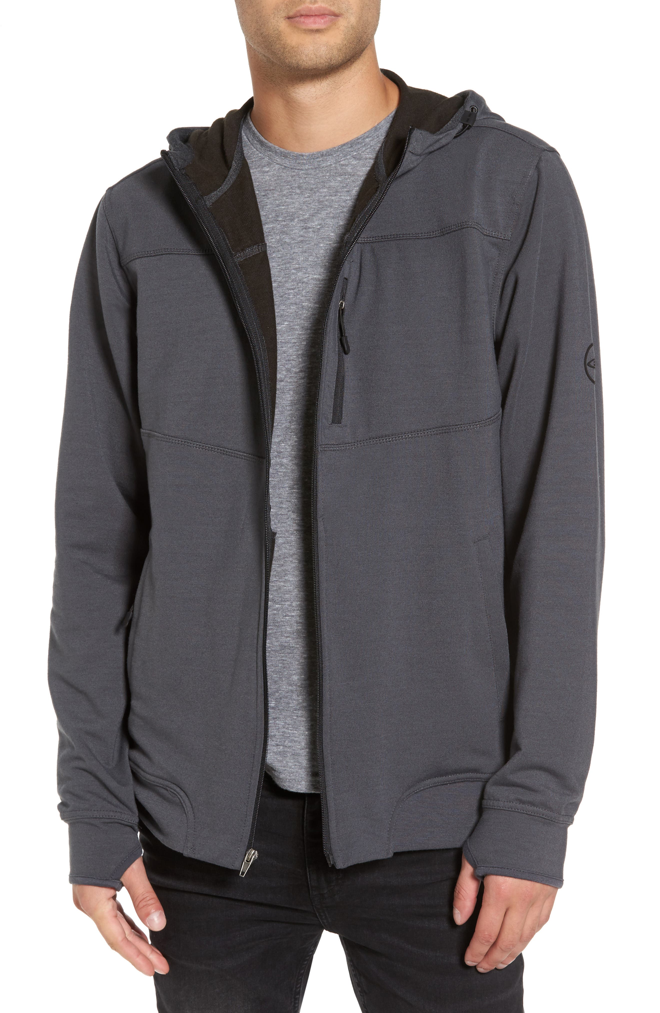 Traveler Hyperhoodie Jacket,                         Main,                         color, Asphalt