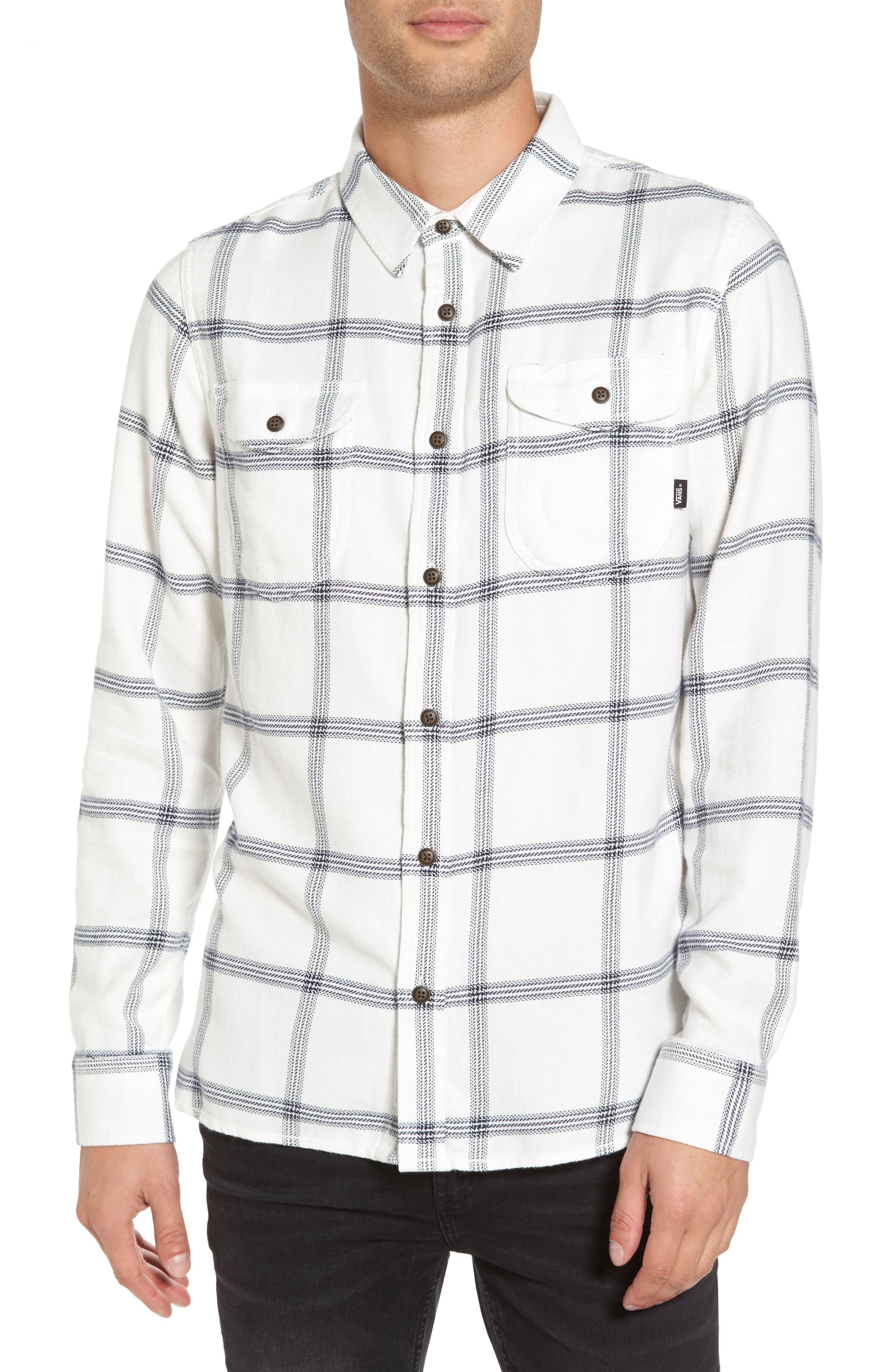 Alternate Image 1 Selected - Vans Wayland II Flannel Sport Shirt