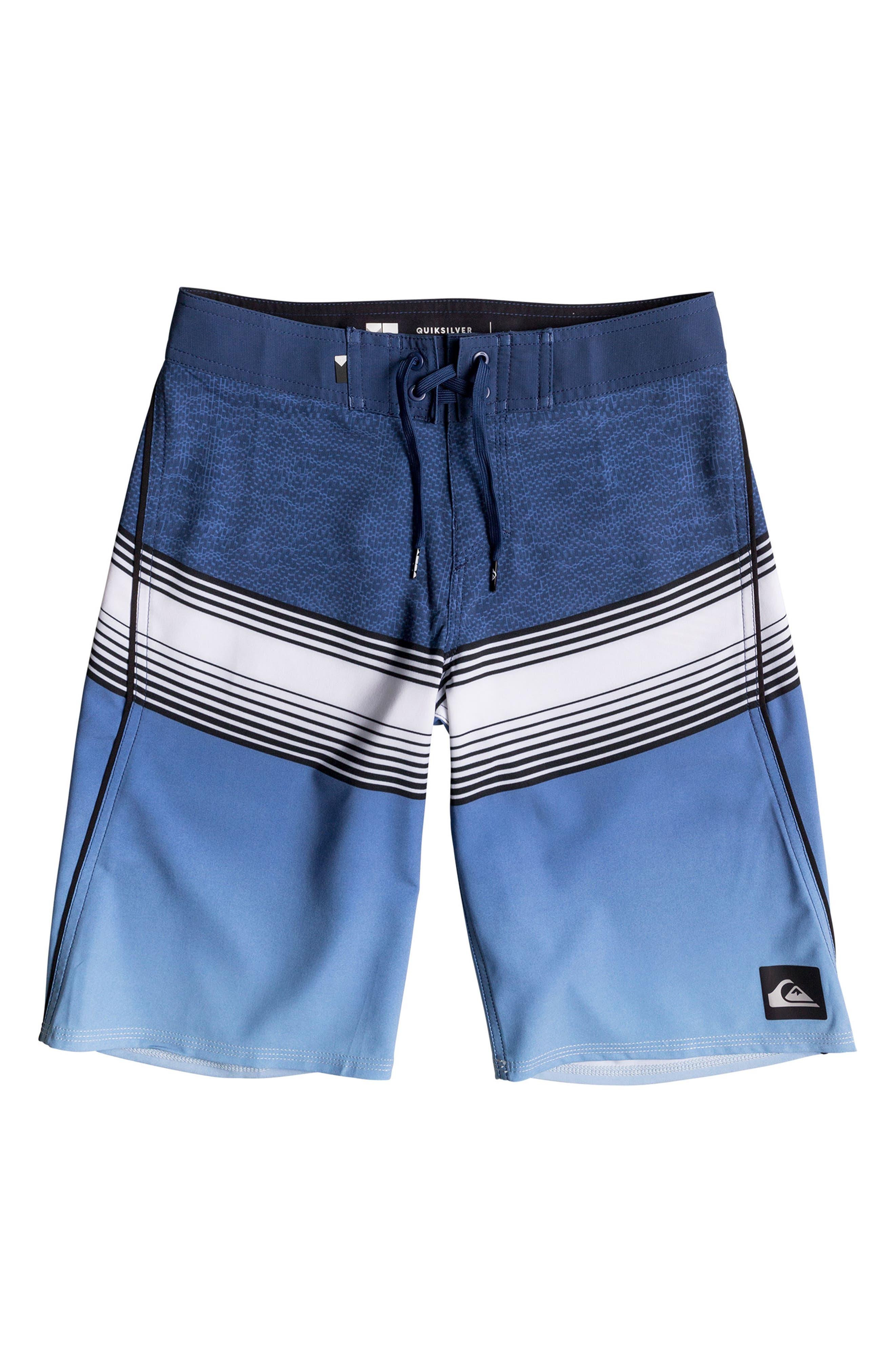 Main Image - Quiksilver Division Fade Board Shorts (Big Boys)