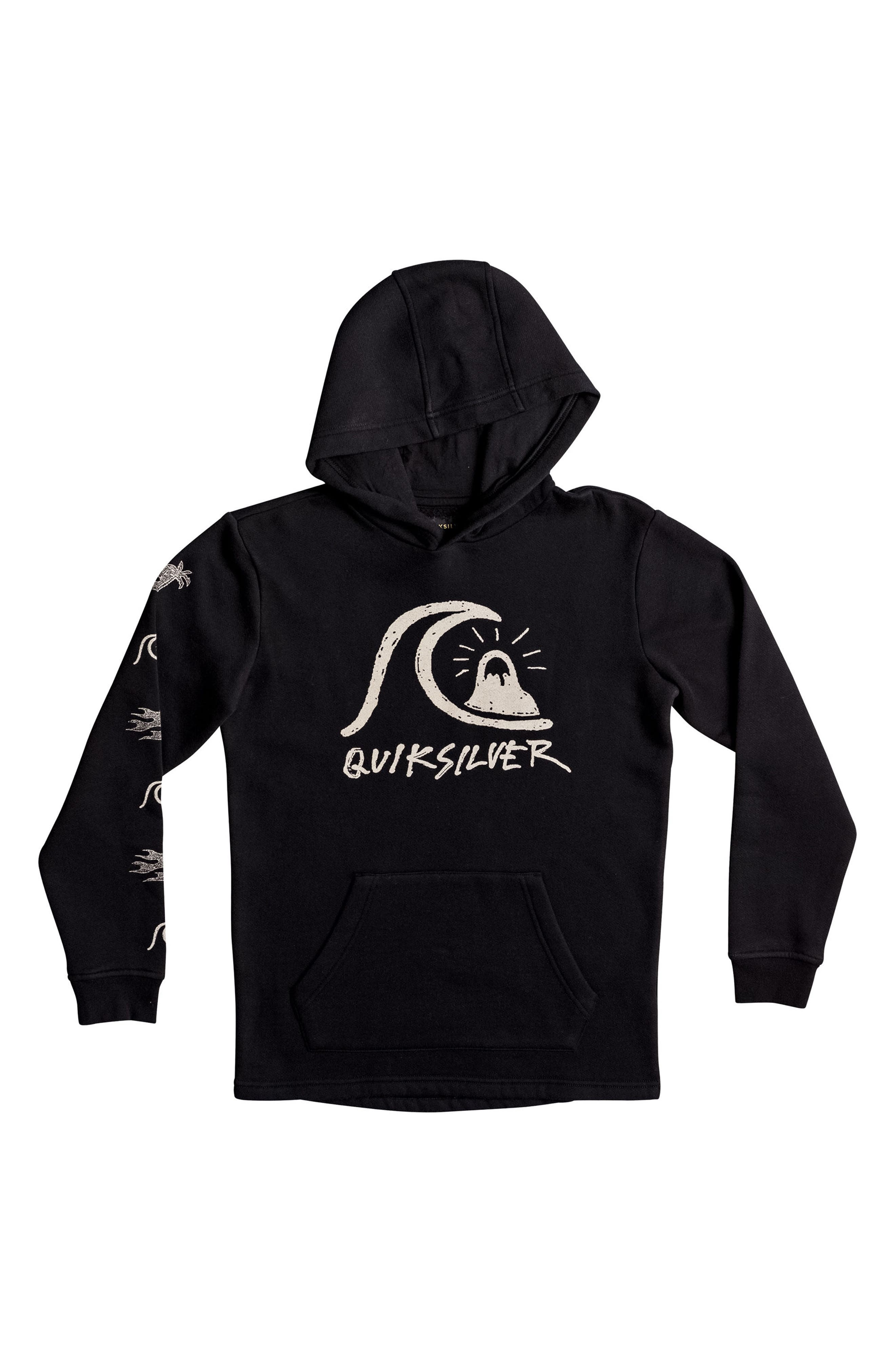 Alternate Image 1 Selected - Quiksilver Venice Bliss Graphic Pullover Hoodie (Big Boys)