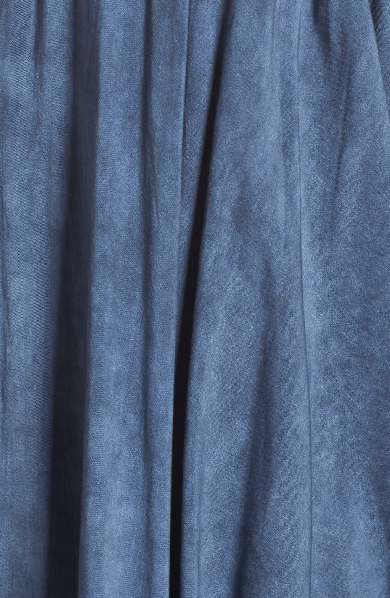 Alternate Image 5  - Elan Off the Shoulder Cover-Up
