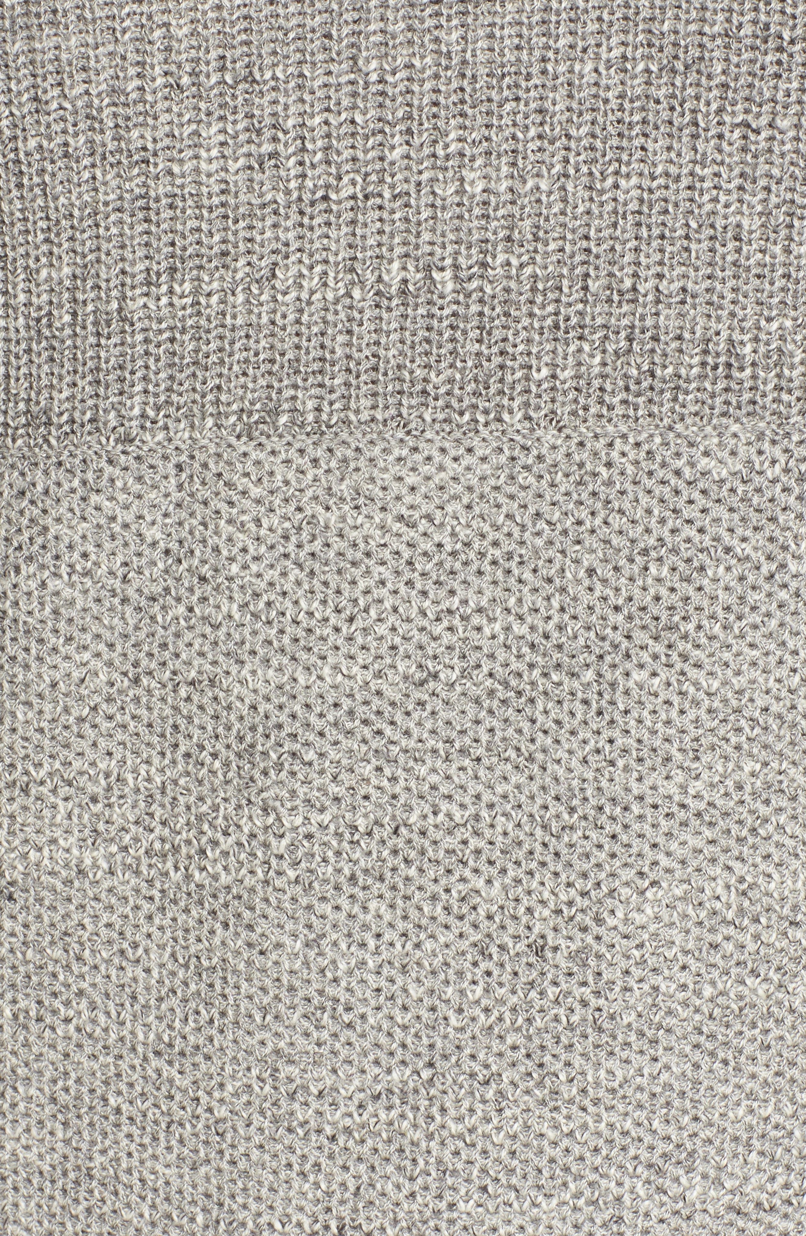 Ardsley Textured Sweater,                             Alternate thumbnail 5, color,                             Grey Heather