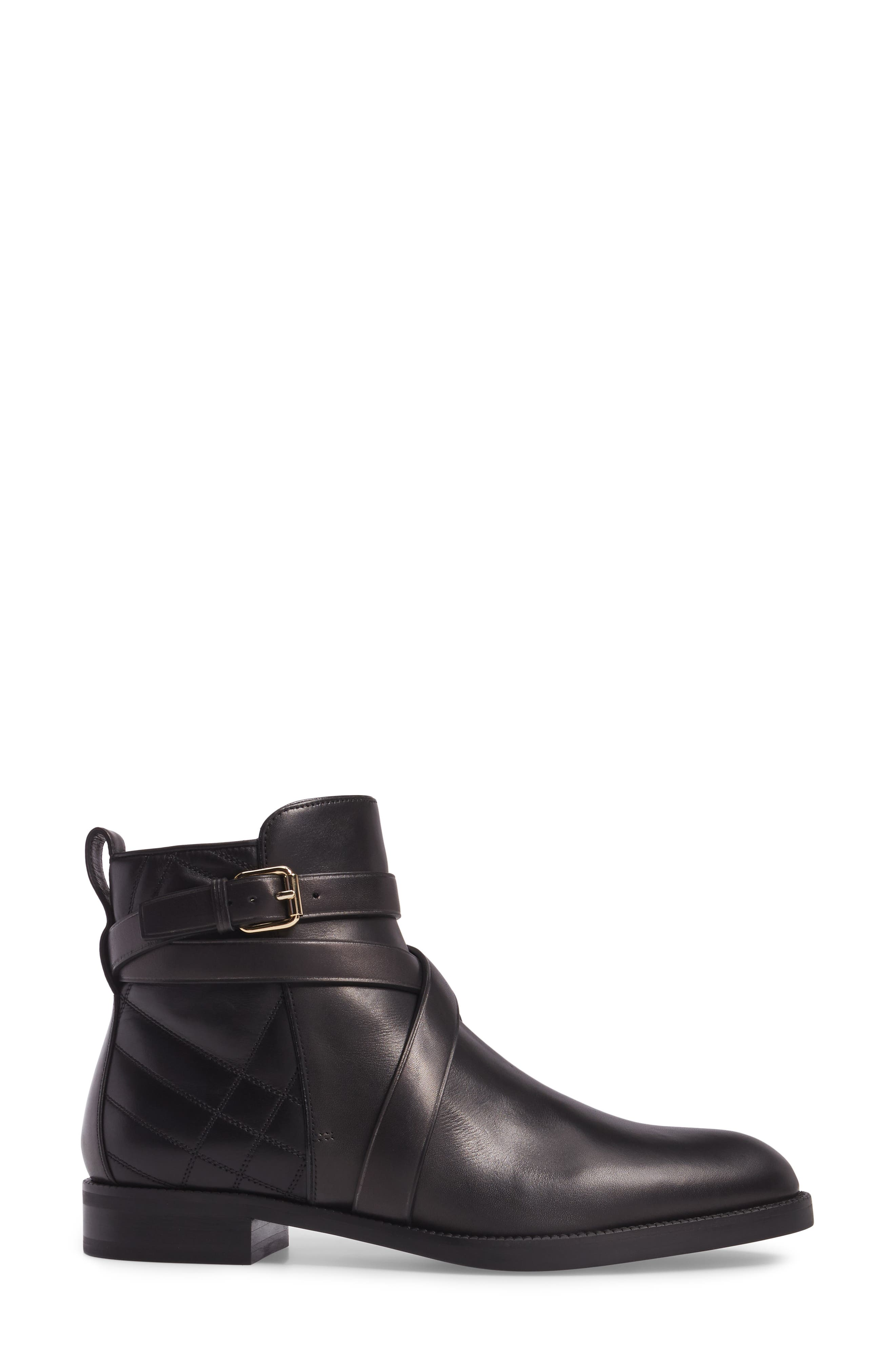 Ankle Boot,                             Alternate thumbnail 3, color,                             Black