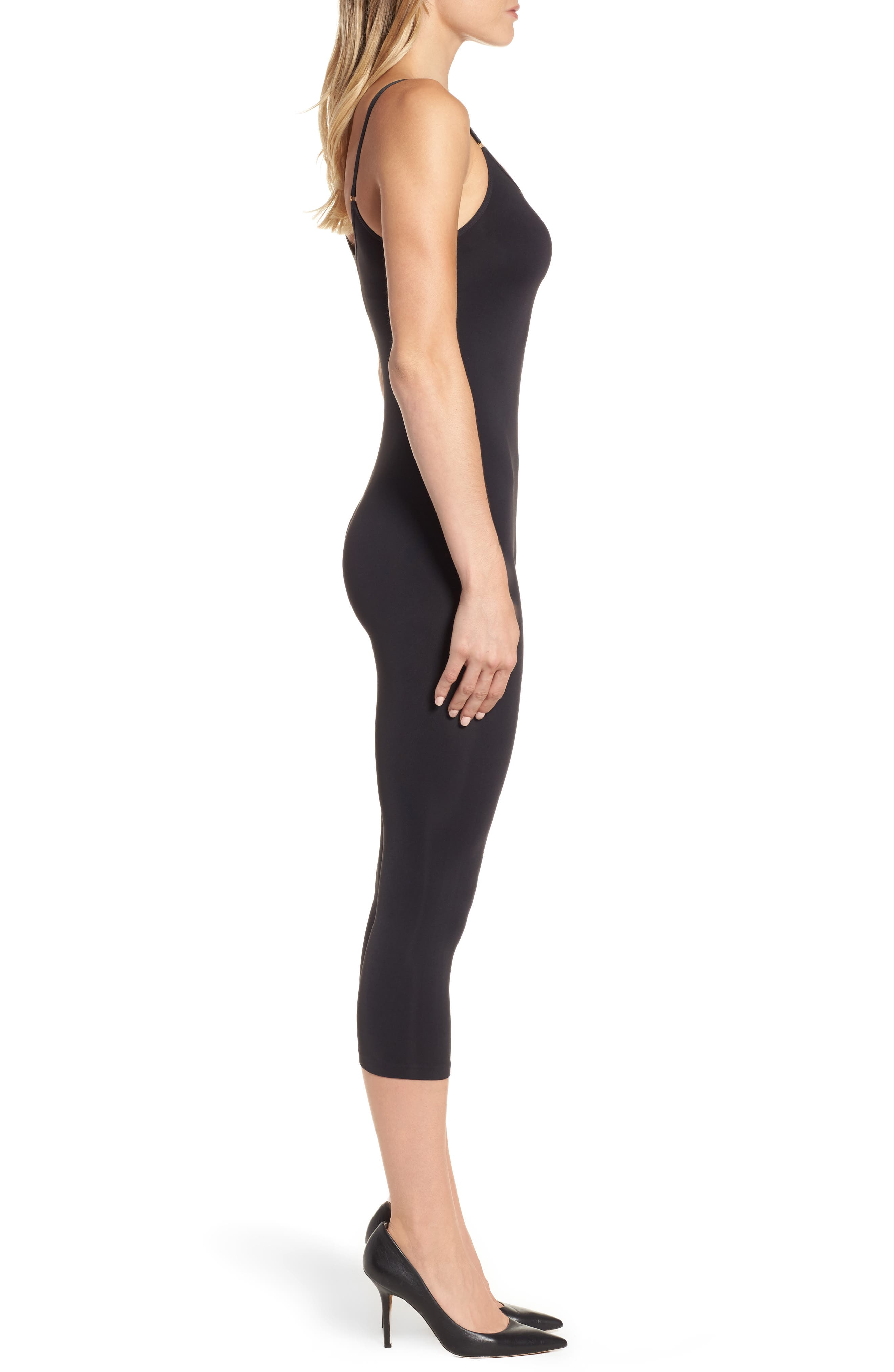 Alternate Image 3  - Donna Karan The Luxe Opaque Collection Bodystocking