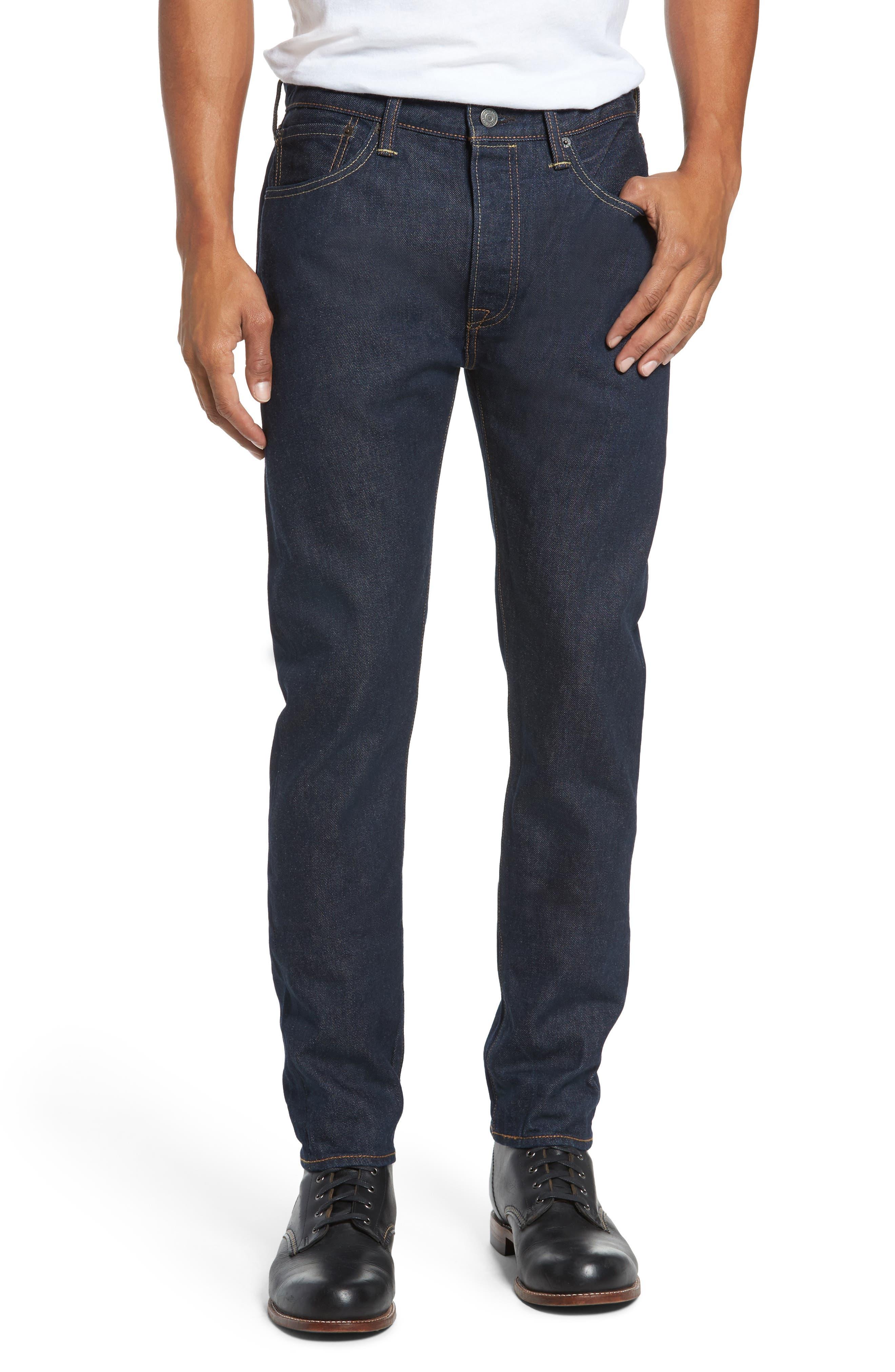 Alternate Image 1 Selected - Levi's® 501™ Skinny Leg Jeans (Noten)