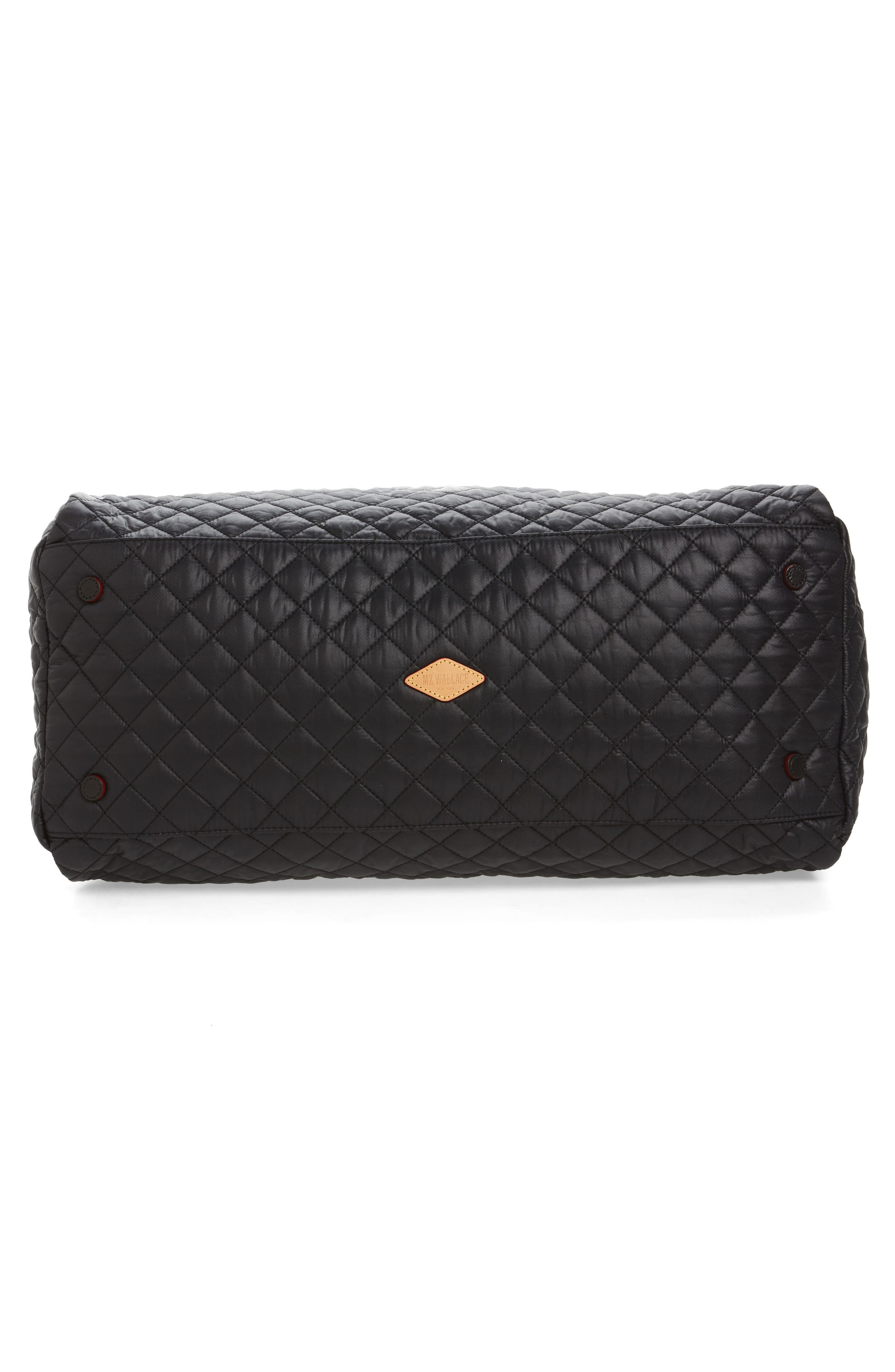 Alternate Image 5  - MZ Wallace Jim Quilted Nylon Duffel Bag