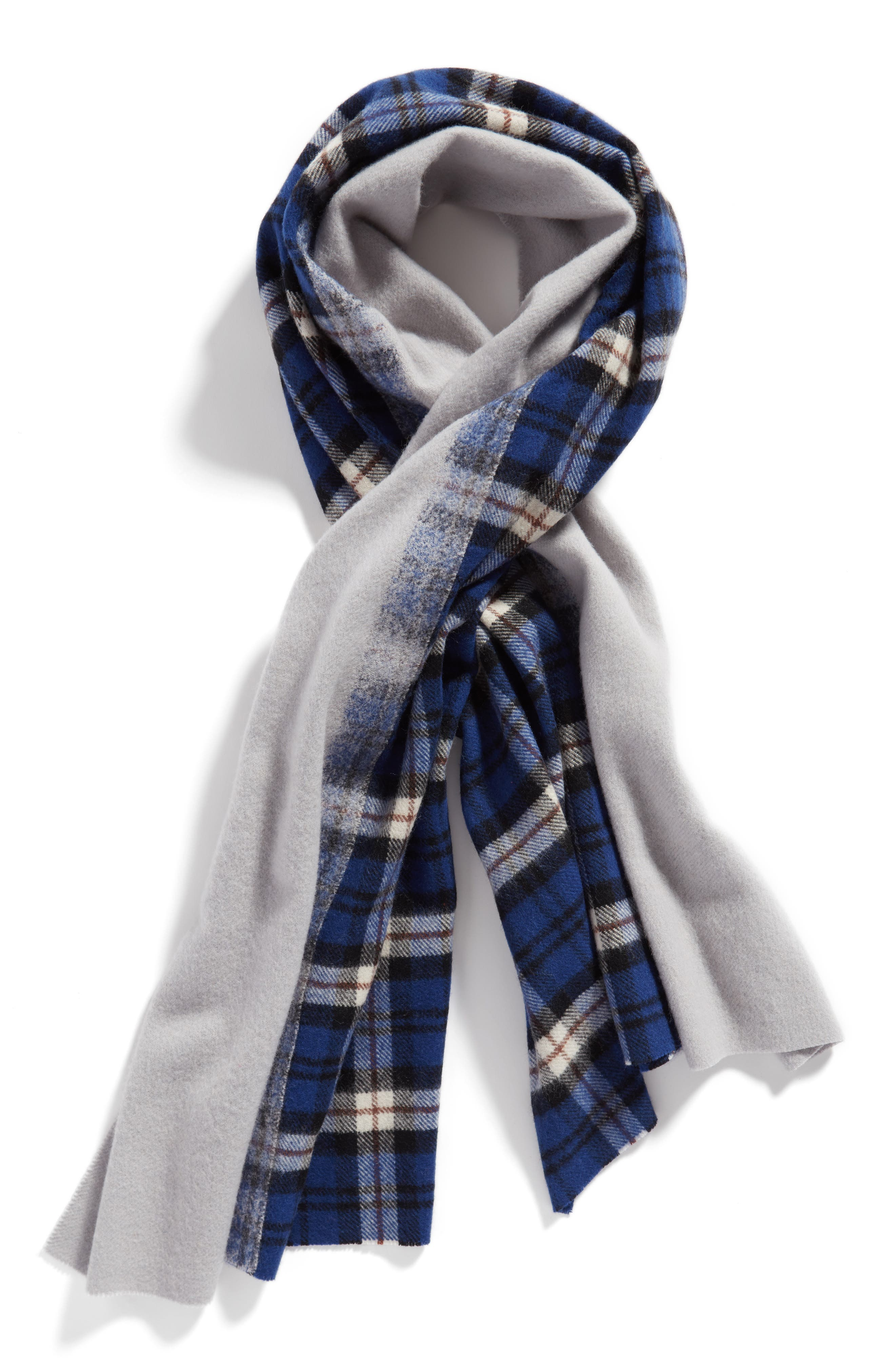 Alternate Image 3  - Standard Form Traditional Wool & Cashmere Scarf
