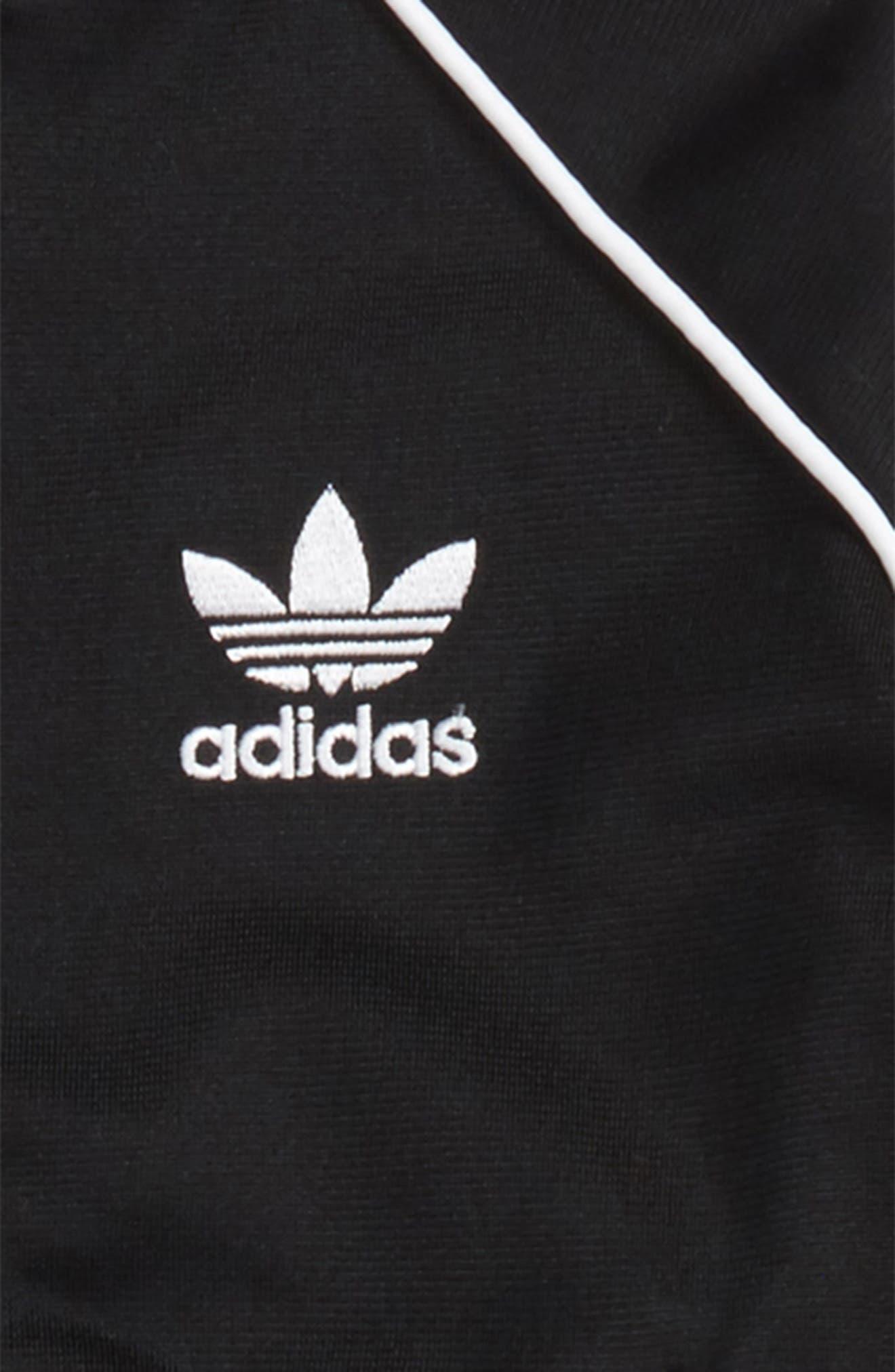 Alternate Image 2  - adidas Originals Track Jacket & Athletic Pants Set (Baby)